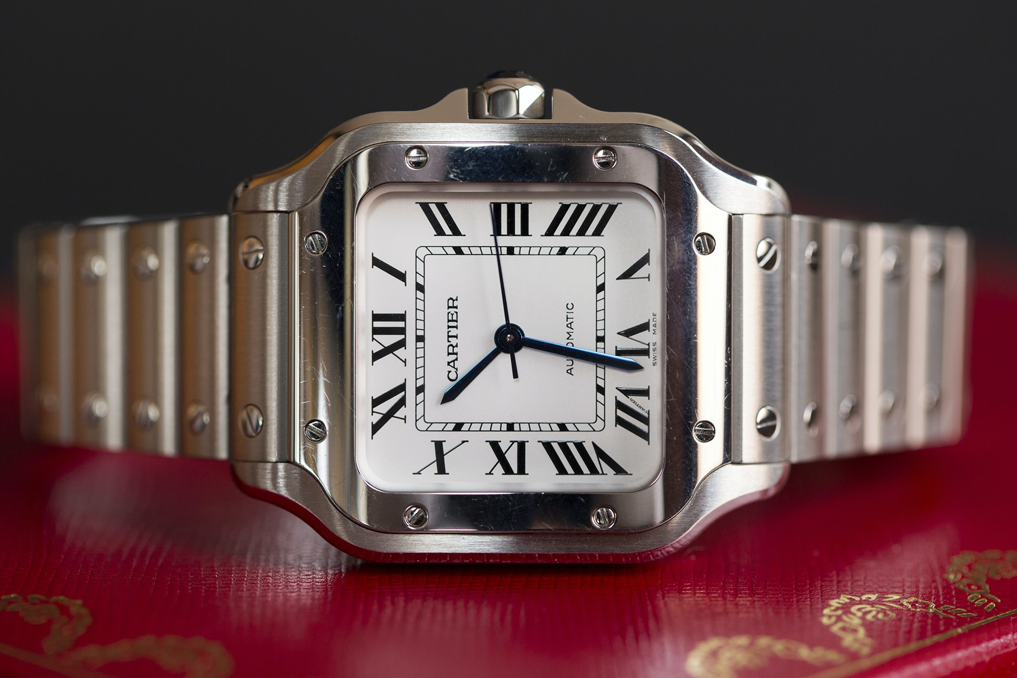 A Week On The Wrist: The Cartier Santos B89A0191 copy