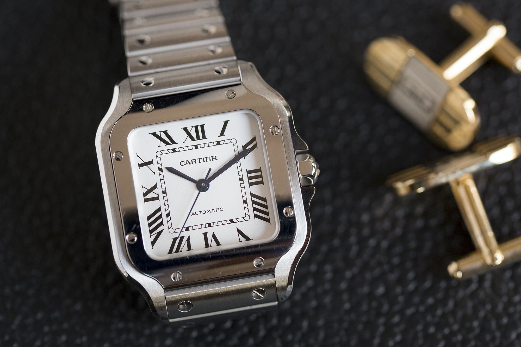 A Week On The Wrist: The Cartier Santos B89A0163 copy