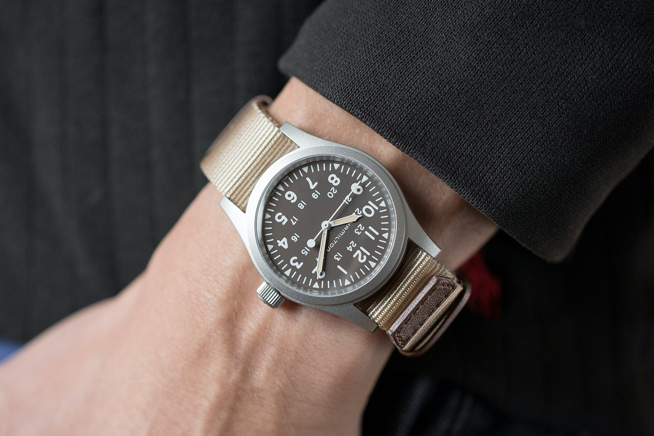 In The Shop - Introducing: The Hamilton Khaki Field Mechanical, Now With A Brown Dial