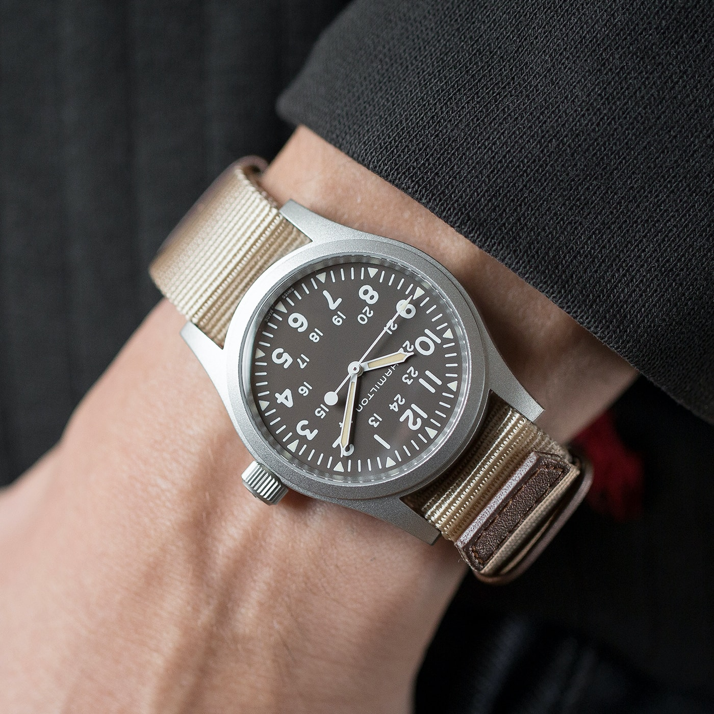 Introducing The Hamilton Khaki Field Mechanical Now With A Brown