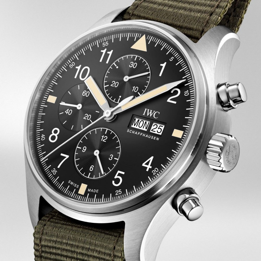 Introducing The Iwc Pilot S Watch Chronograph Reference