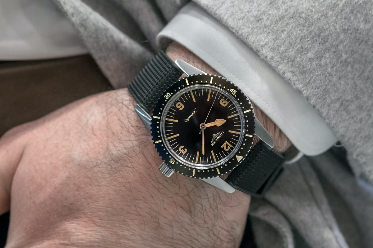 Hands On The Longines Heritage Skin Diver Hodinkee