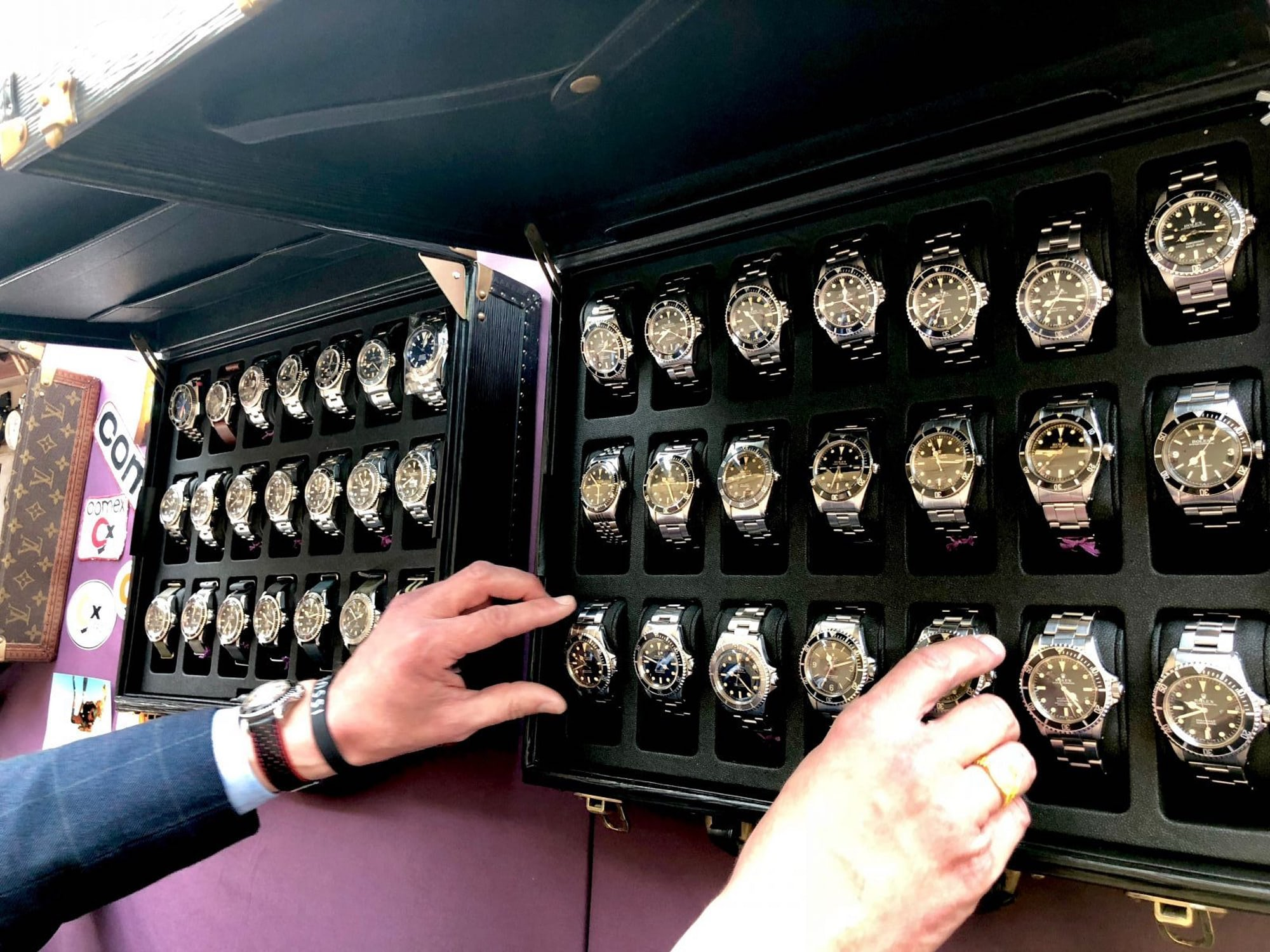 recommended reading: more old, issued rolex watches in one place than you ever thought possible Recommended Reading: More Old, Issued Rolex Watches In One Place Than You Ever Thought Possible IMG 3671