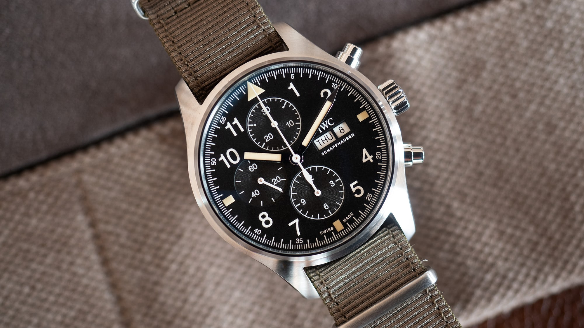 hands-on: the iwc pilot's watch chronograph ref. iw377724 Hands-On: The IWC Pilot's Watch Chronograph Ref. IW377724 hero
