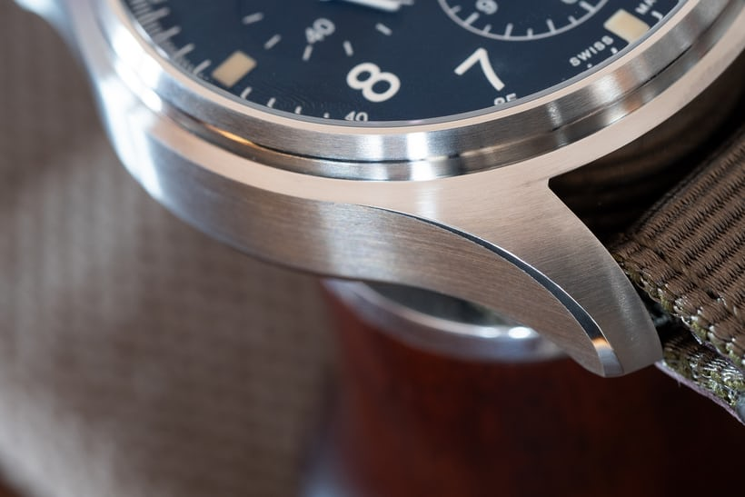 IWC Pilot's Watch Chronograph Reference IW377724 lugs