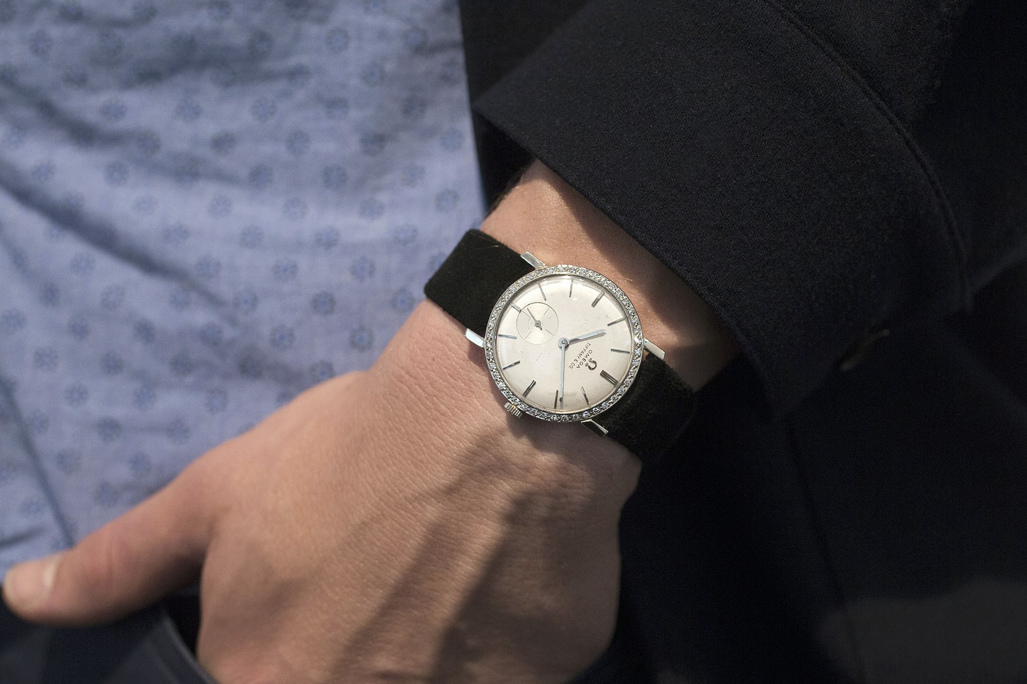 breaking news: elvis presley's tiffany-dial omega sells for $1.8 million, becoming most expensive omega Breaking News: Elvis Presley's Tiffany-Dial Omega Sells For $1.8 Million, Becoming Most Expensive Omega 20015319