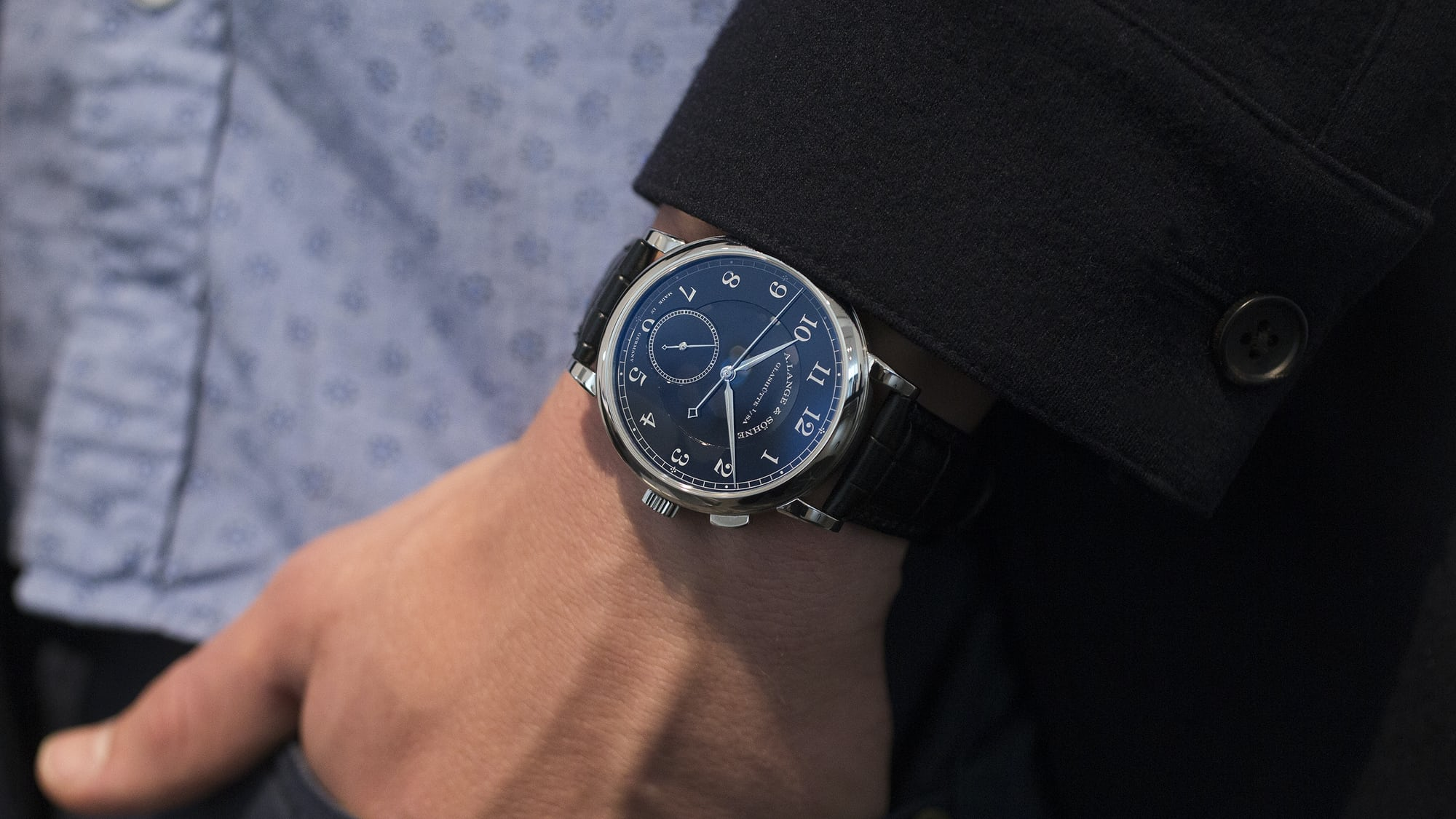 breaking news: unique a. lange & söhne 1815 'homage to walter lange' in stainless steel sells for $852,525 in geneva Breaking News: Unique A. Lange & Söhne 1815 'Homage To Walter Lange' In Stainless Steel Sells For $852,525 In Geneva 20015342 copy