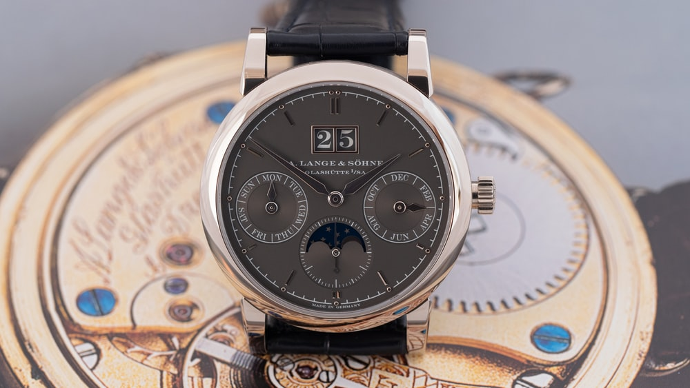 Hands-On: The A. Lange & Söhne Saxonia Annual Calendar US Boutique Exclusive With Grey Dial