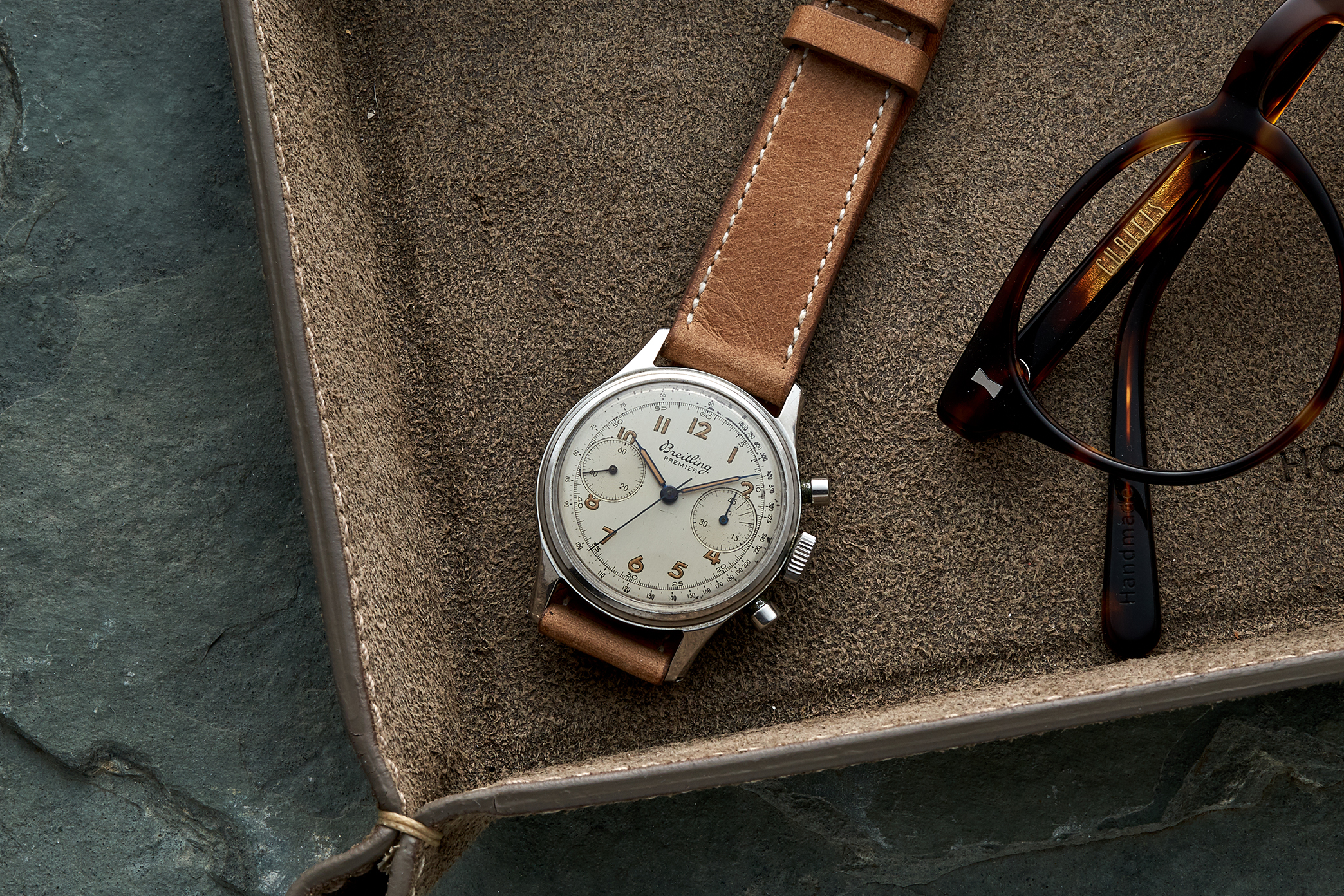 In The Shop Vintage Watches: A 1968 Longines Chronograph