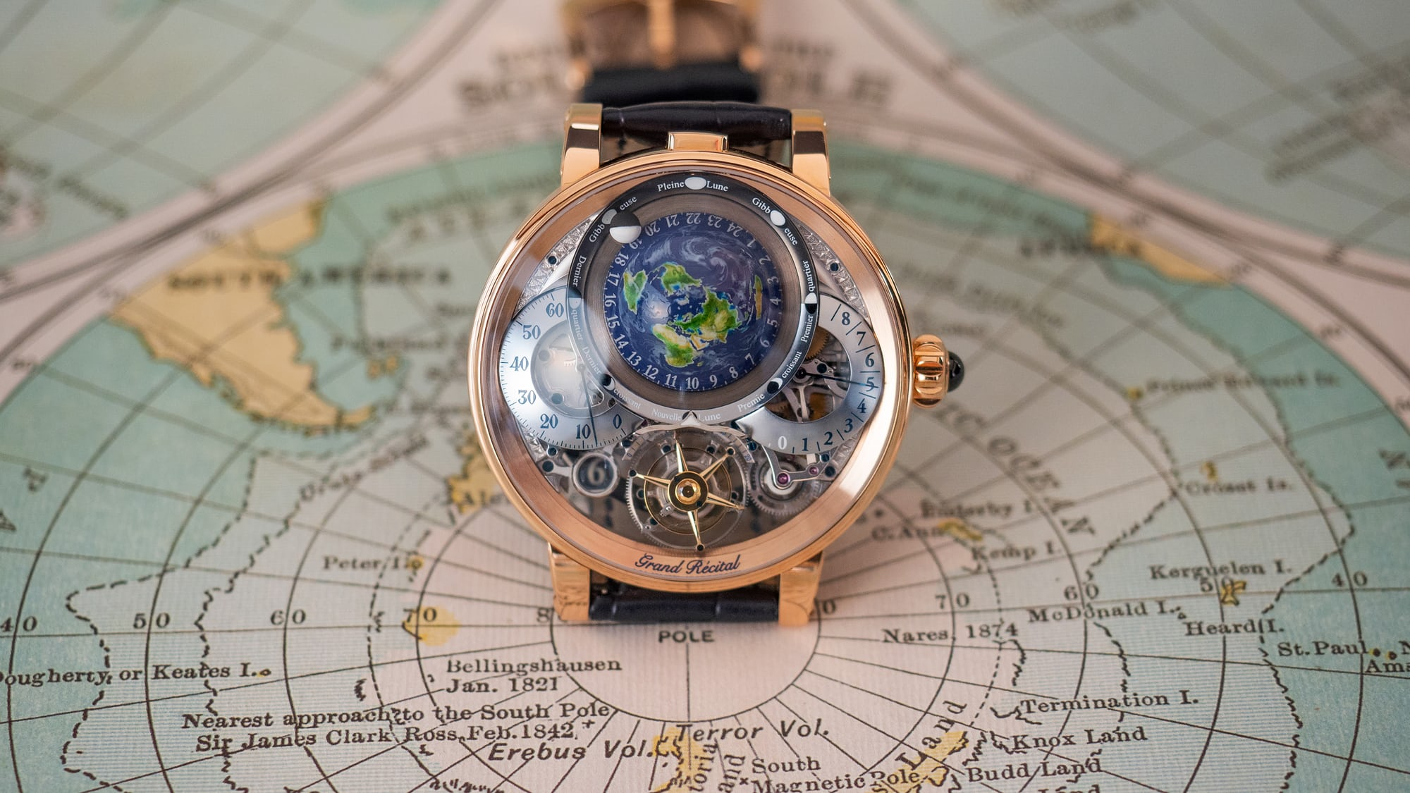 Breaking News: The Bovet Récital 22 Grand Récital Takes Home The Aiguille d'Or At The 2018 GPGH Awards hero