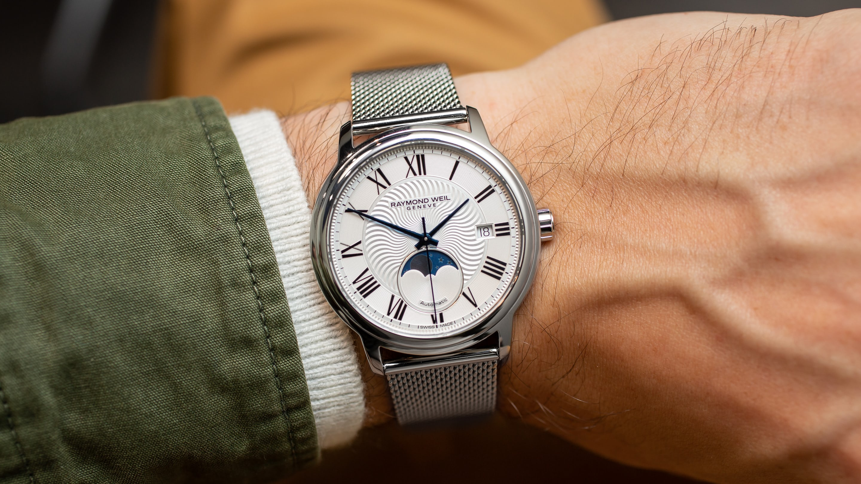 Hands On The Raymond Weil Maestro 2239 Series Moon Phase Hodinkee