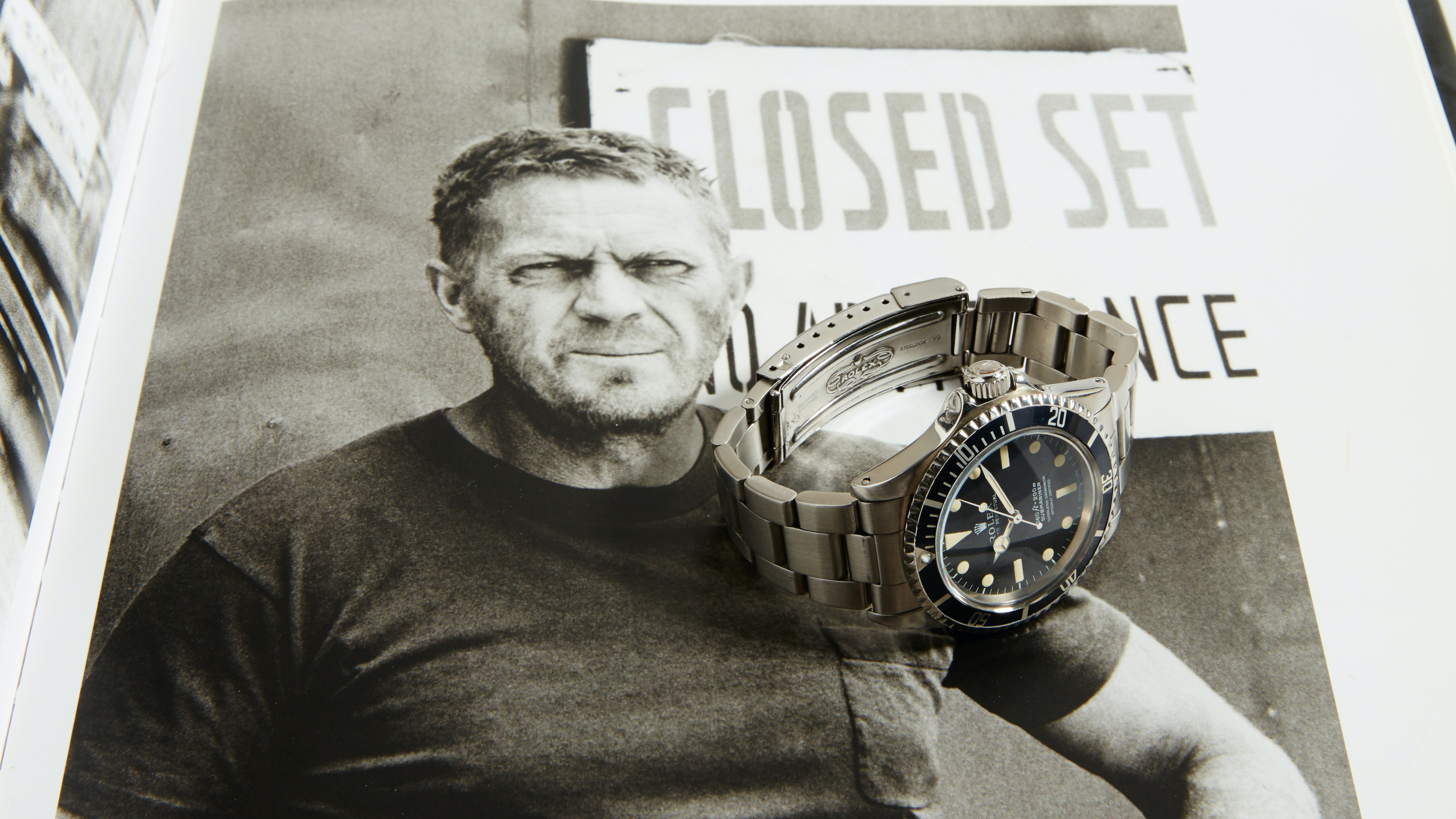 824af0bcdbf3 Breaking News  Phillips To Auction Steve McQueen s Rolex Submariner Ref.  5513 - HODINKEE