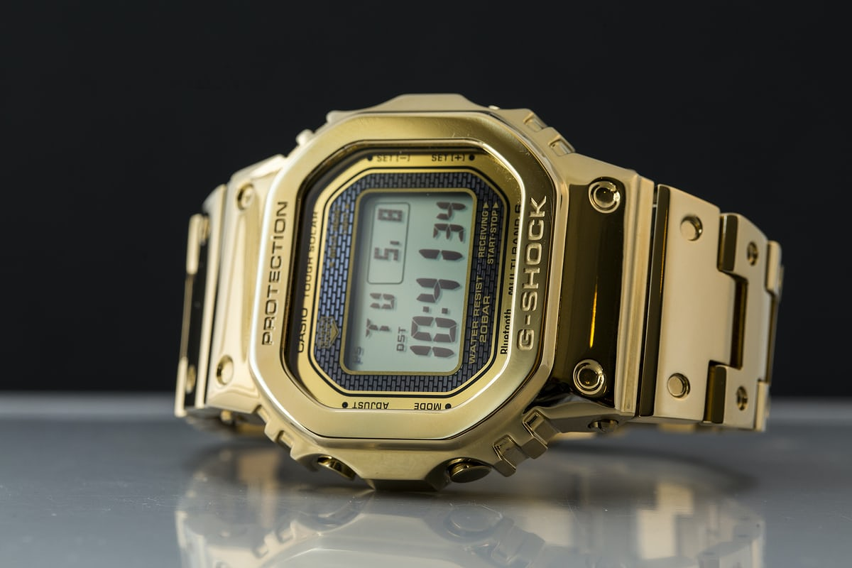 5fdfa1b25 Its full name is the Casio G-Shock GMW-B5000TFG-9 Full Metal, but  collectors have luckily been calling it just the