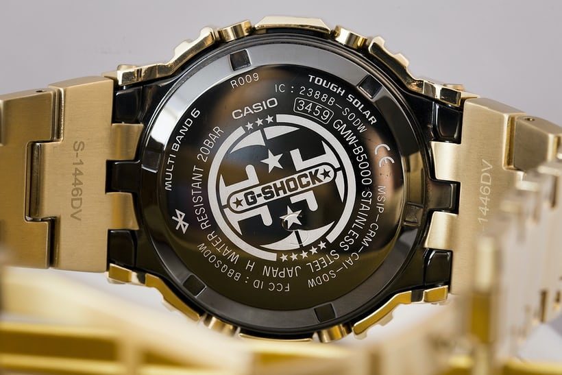 e678023ed One thing to note for G-Shock nerds is that in between the bezel and main  case is a slim layer of special resin that allows the watch to be just as  tough as ...