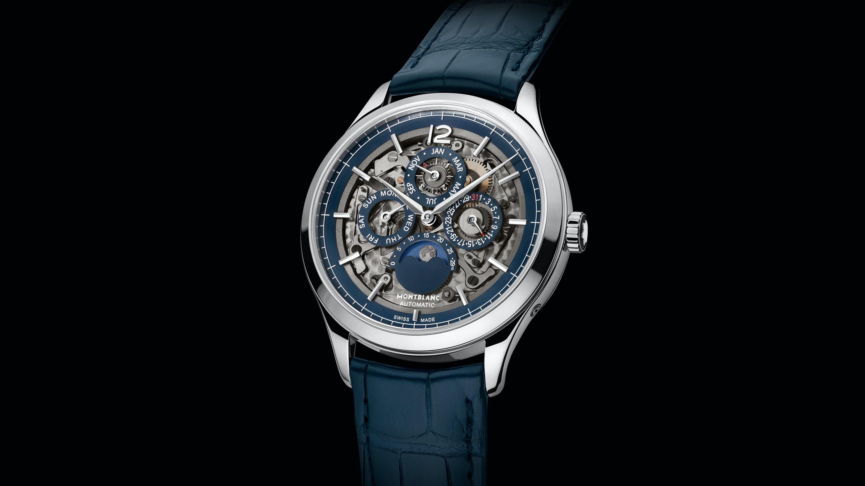 Introducing: The Montblanc Heritage Chronométrie Perpetual Calendar Sapphire montblanc h