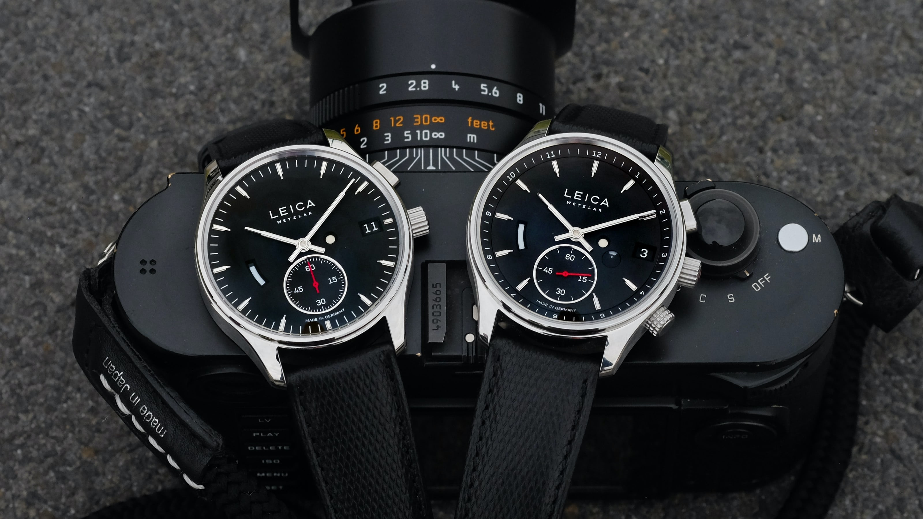 Introducing: The Leica L1 And L2 Watches (Live Pics & Details)