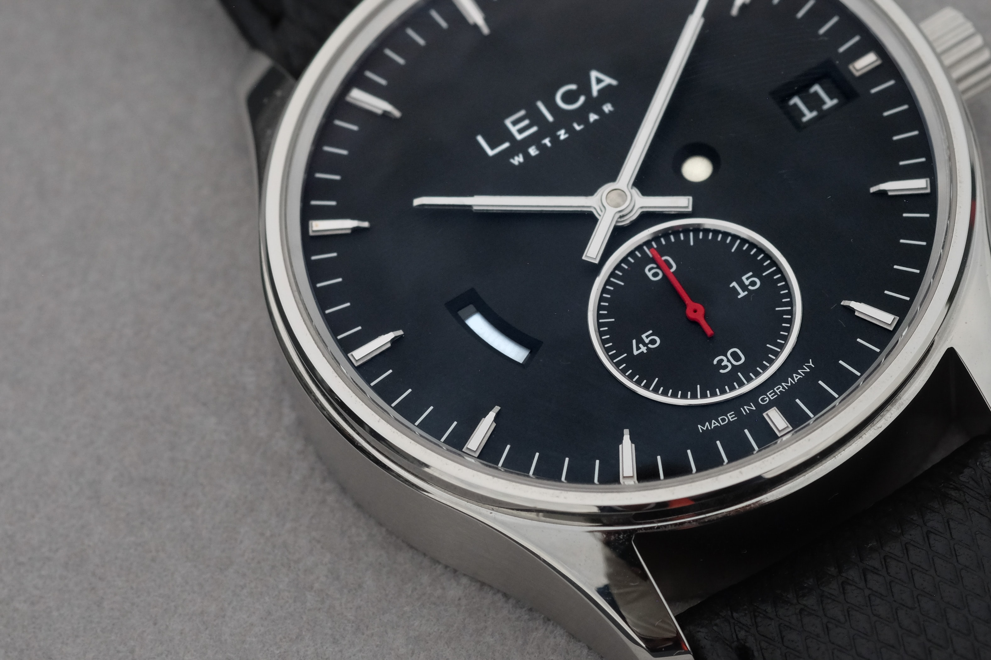 Introducing: The Leica L1 And L2 Watches (Live Pics & Details) Leica 4