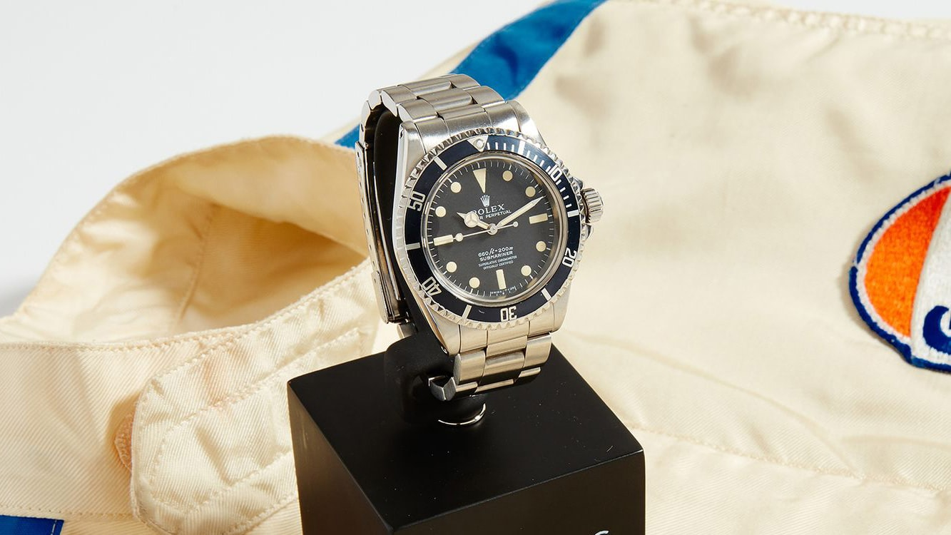 Auction Report: The McQueen Estate Disputes The Provenance Of Supposed Steve McQueen Submariner Being Sold By Phillips phillips 01