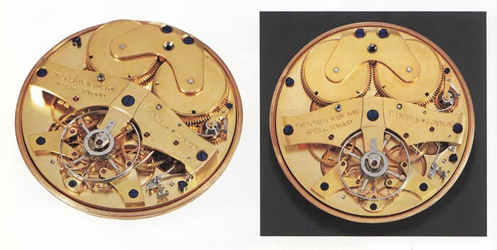 Movement of the Atwood watch. Photo courtesy of the George Daniels Educational Trust.