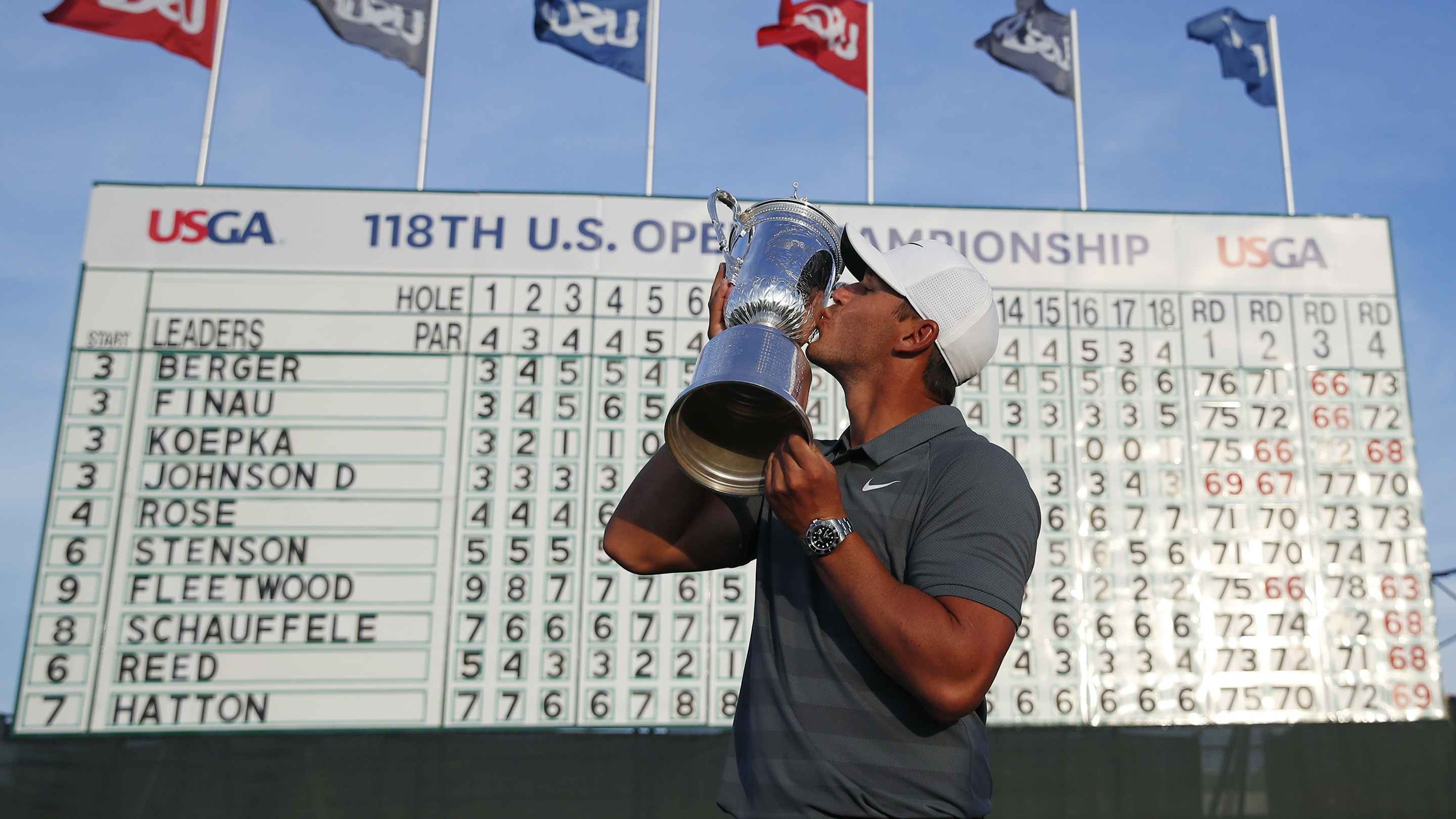 Watch Spotting: Brooks Koepka Wins The U.S. Open (Again), Wearing A Rolex (Again) hero