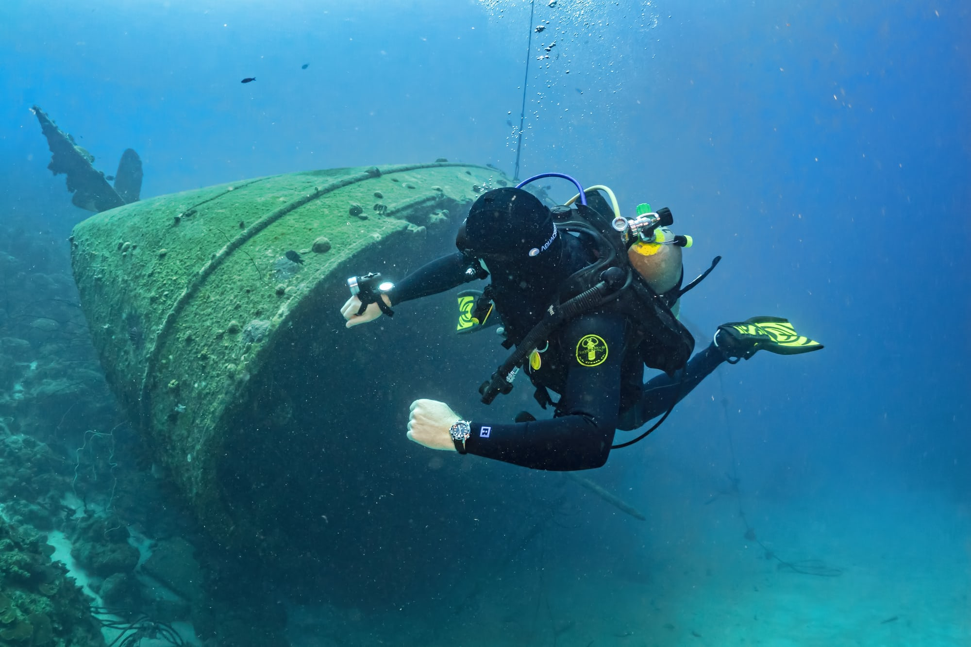 In-Depth: Diving With The Omega Seamaster Professional 300M SM300 pro UW 6