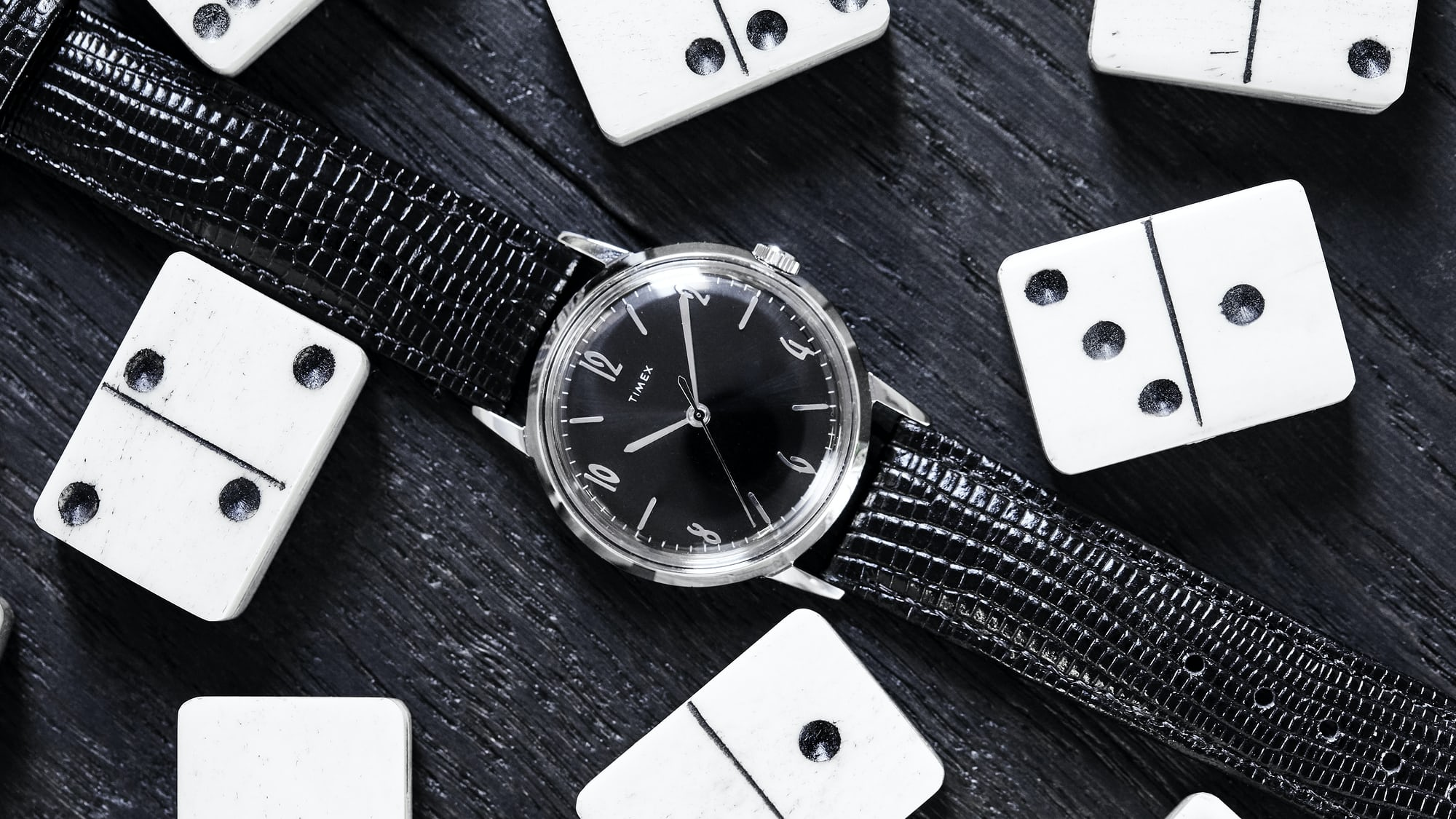 Introducing: The Timex Marlin Blackout, A Todd Snyder Exclusive Timex Hero