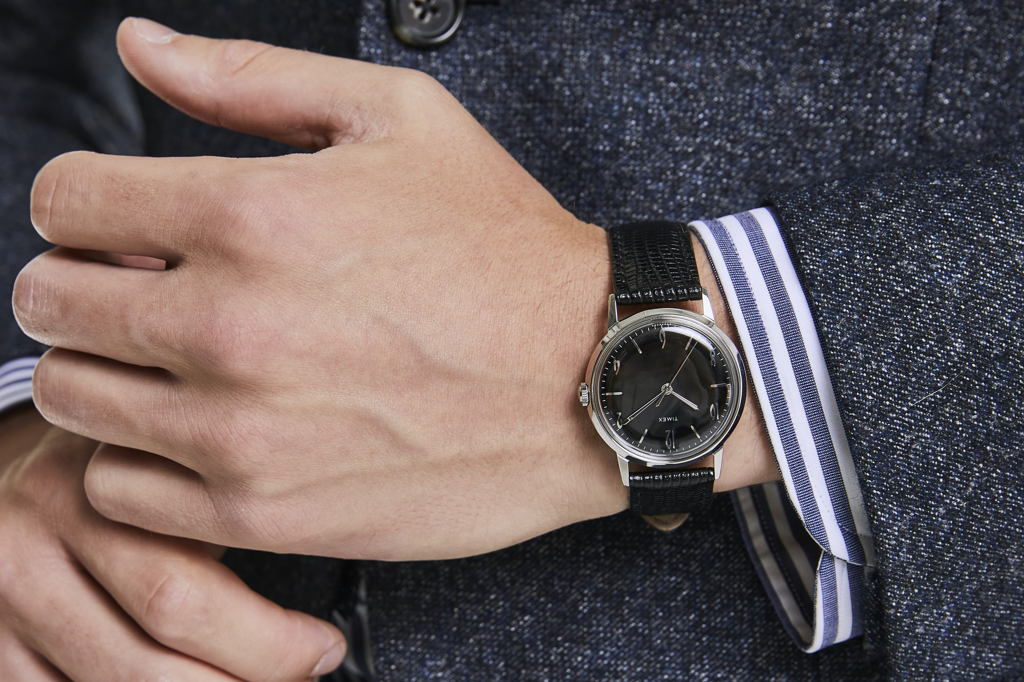 Introducing: The Timex Marlin Blackout, A Todd Snyder Exclusive Timex marlin 2