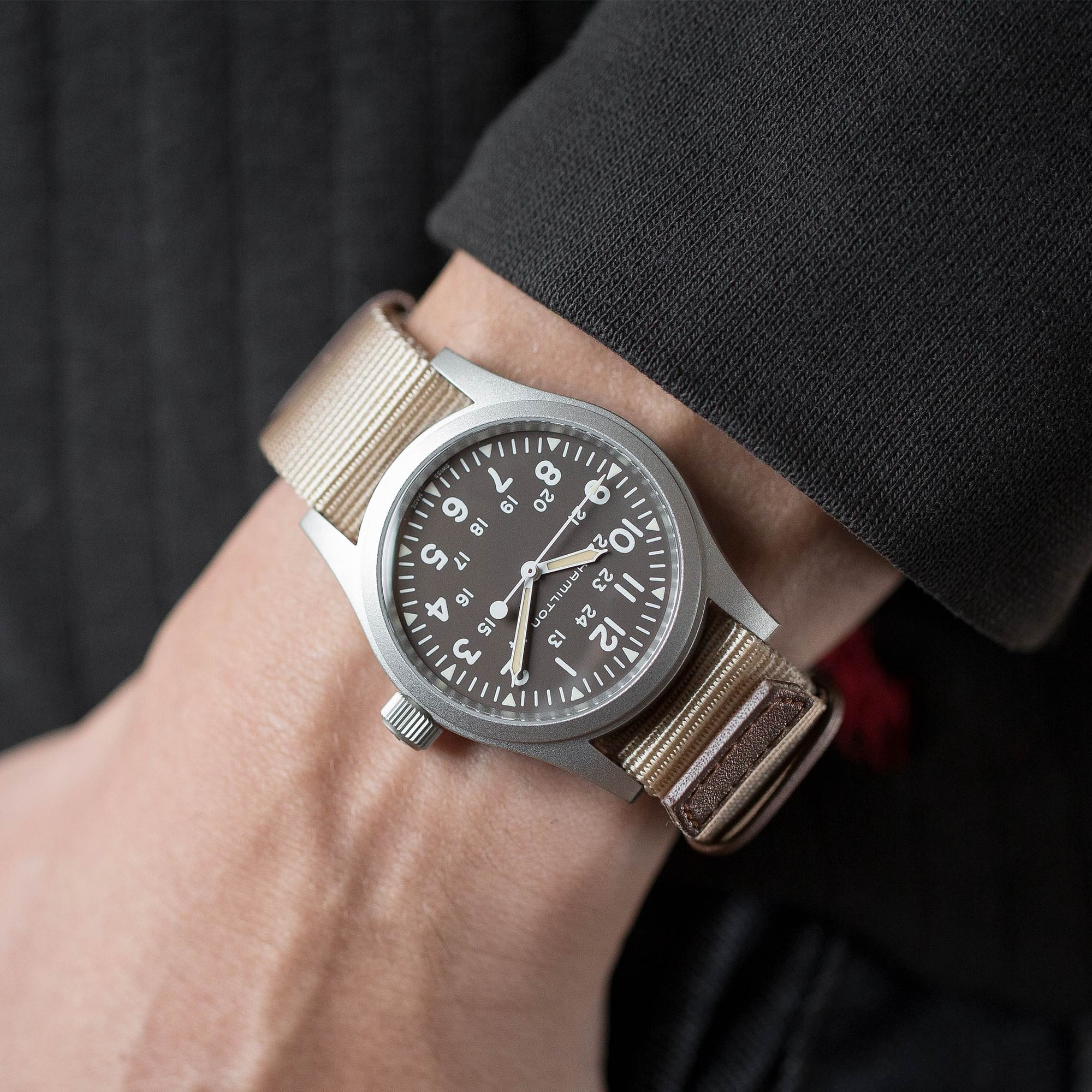 In The Shop – Our Favorite Watches And Accessories For The Fourth Of July Hamilton2 wrist