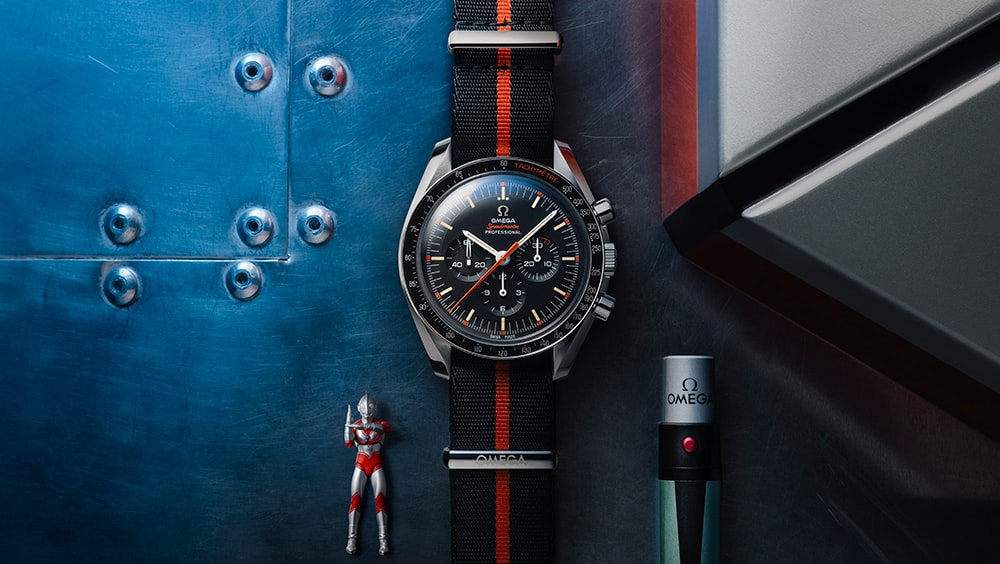 Introducing: The Omega Speedmaster 'Speedy Tuesday' 2 Ultraman Speedy Tuesday Ultraman HERO