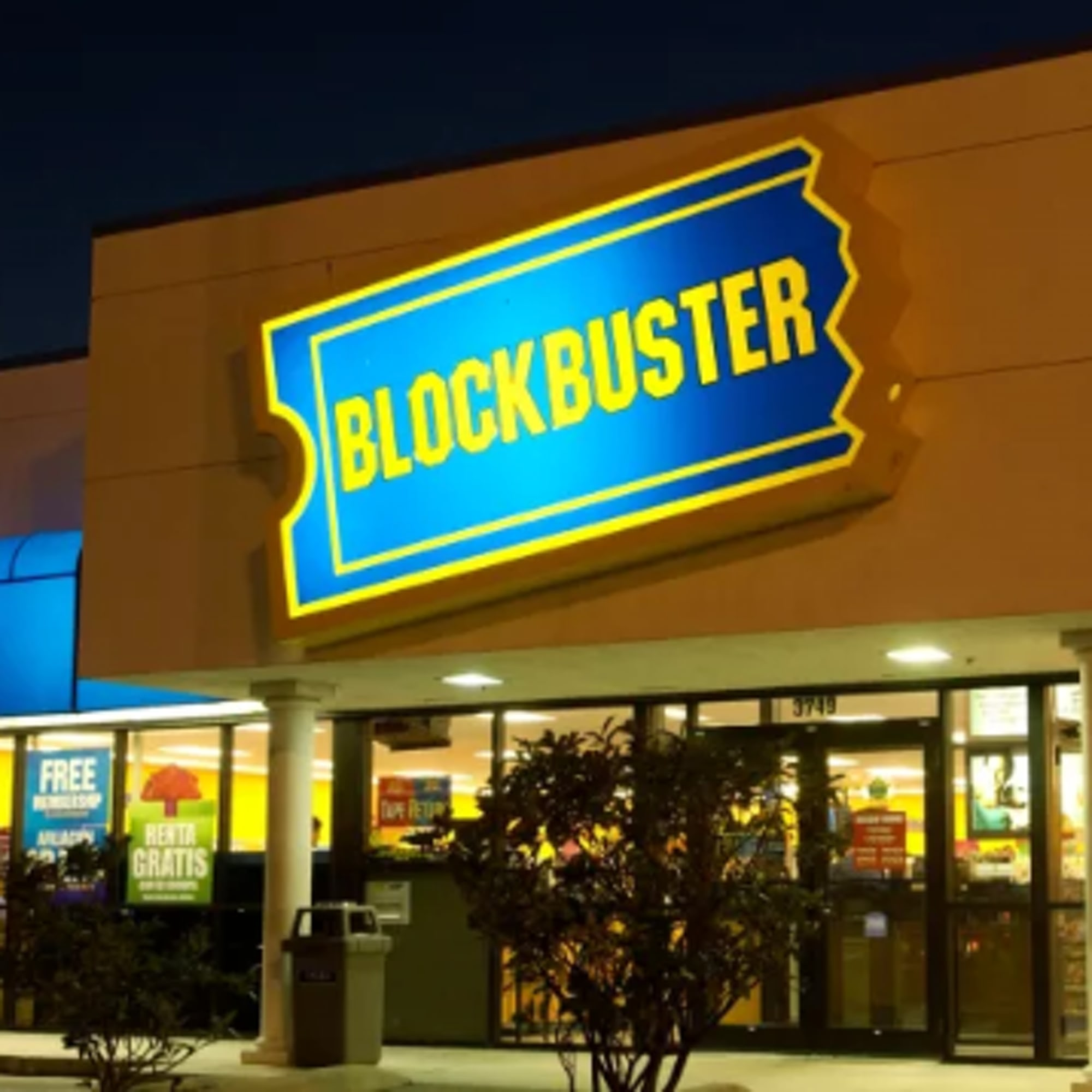 Weekend Round-Up: The Palm Trees In L.A., The Car Of The Future, And The Very Last Blockbuster Video blockbuster