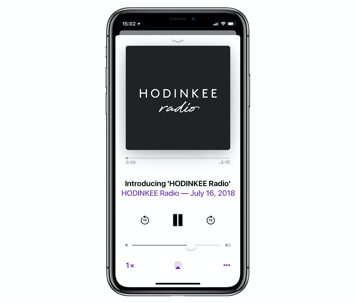 Introducing: HODINKEE Radio iphone screenshot 1
