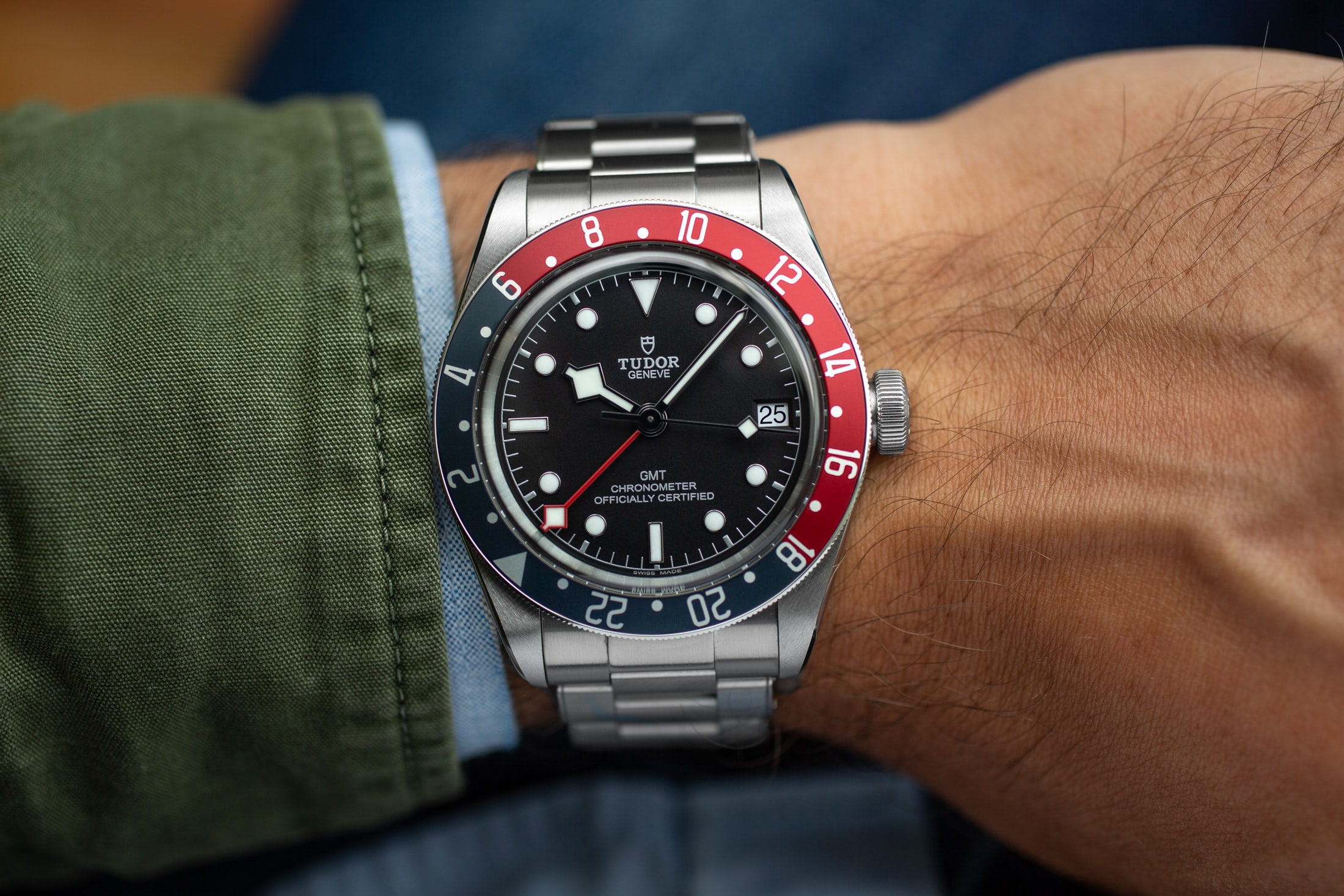 A Week On The Wrist: The Tudor Black Bay GMT Tudor Black Bay GMT 15