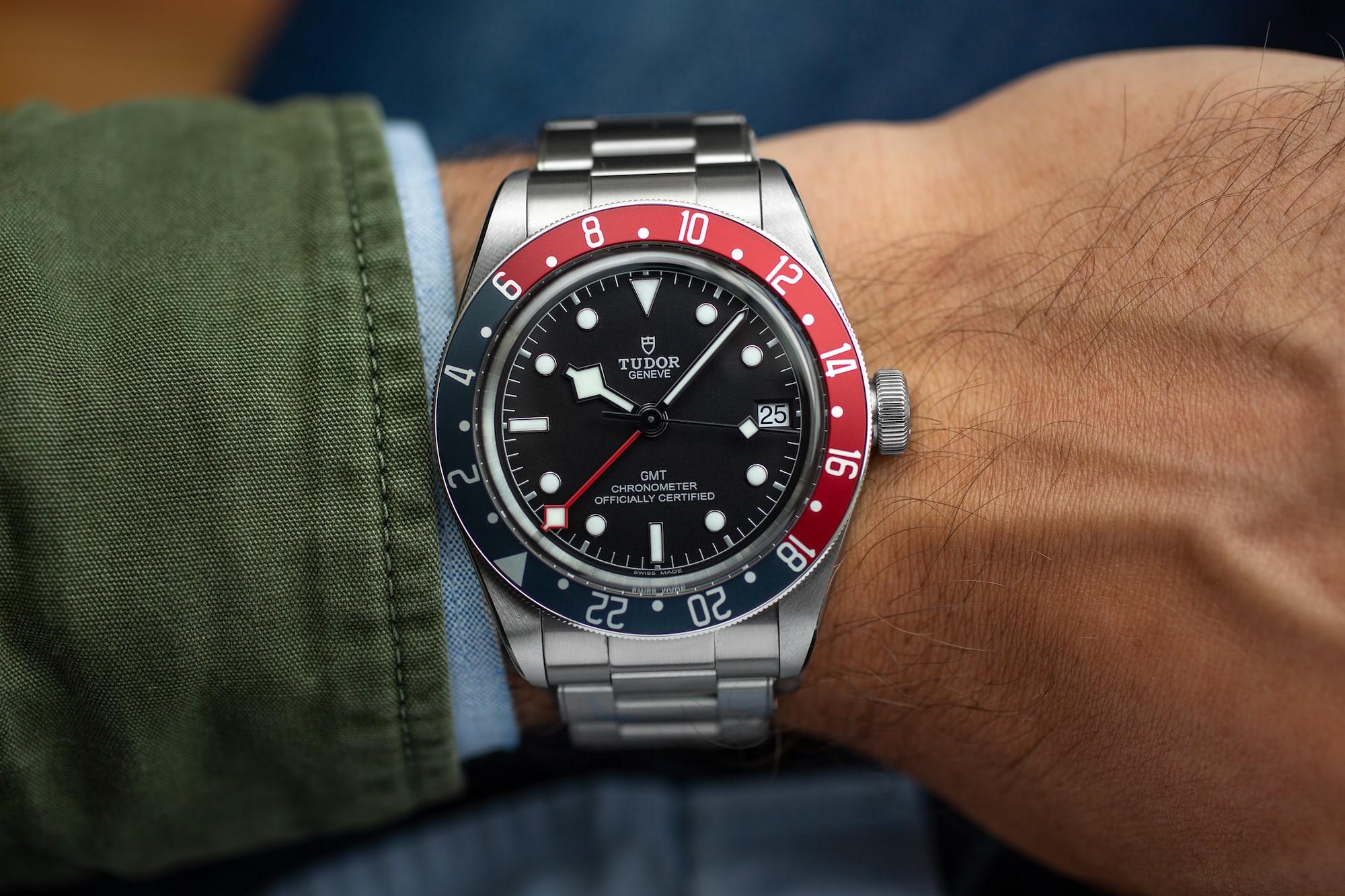 A Week On The Wrist: The Tudor Black Bay GMT Tudor Black Bay GMT 15