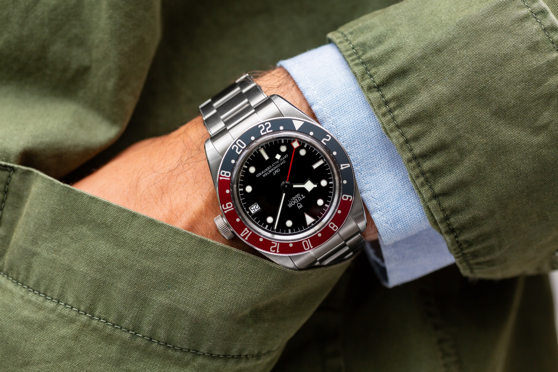 A Week On The Wrist: The Tudor Black Bay GMT Tudor Black Bay GMT 13