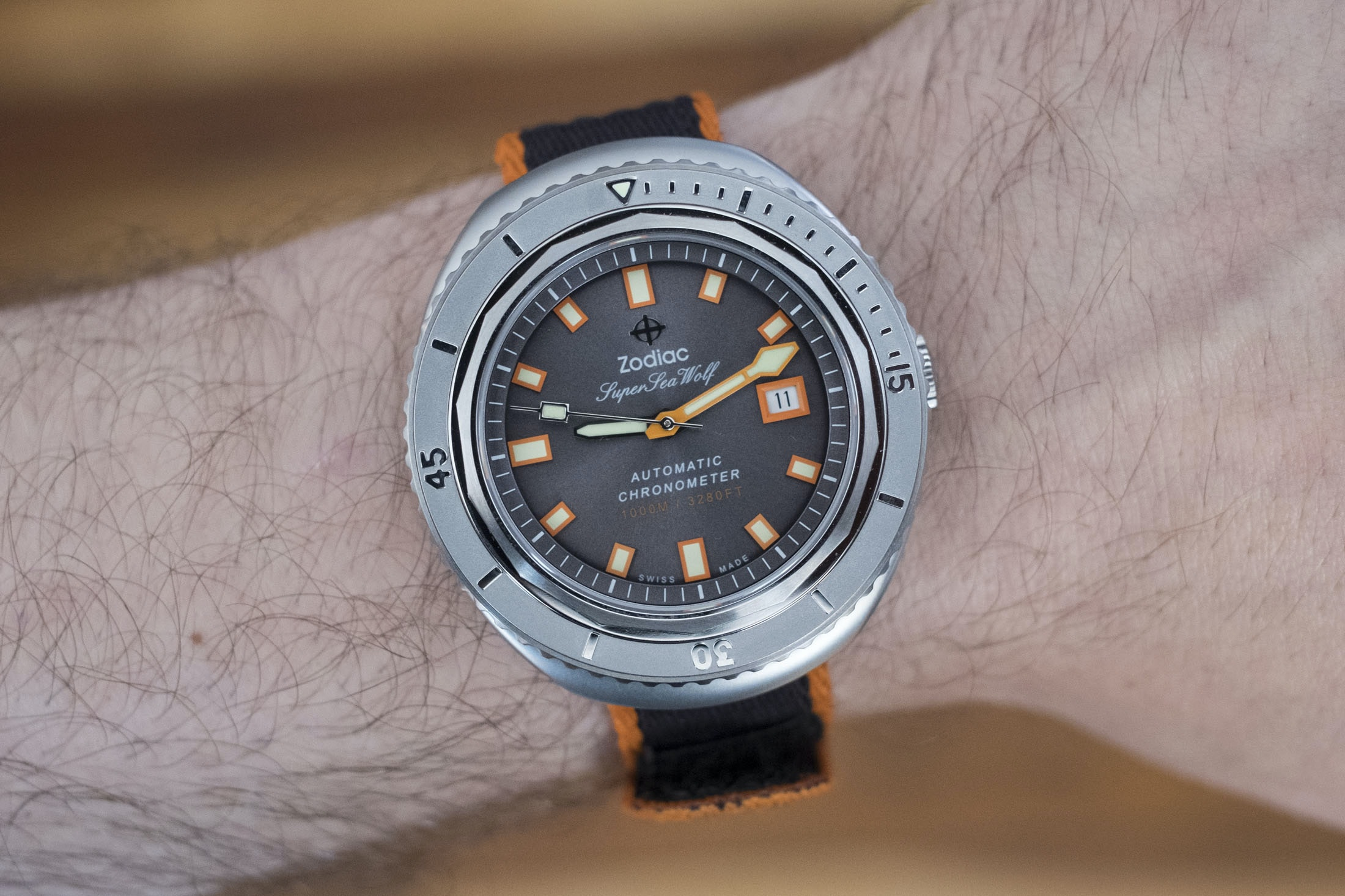 Introducing: The Zodiac Super Sea Wolf 68 Limited Edition (Live Pics & Pricing) DSCF8769