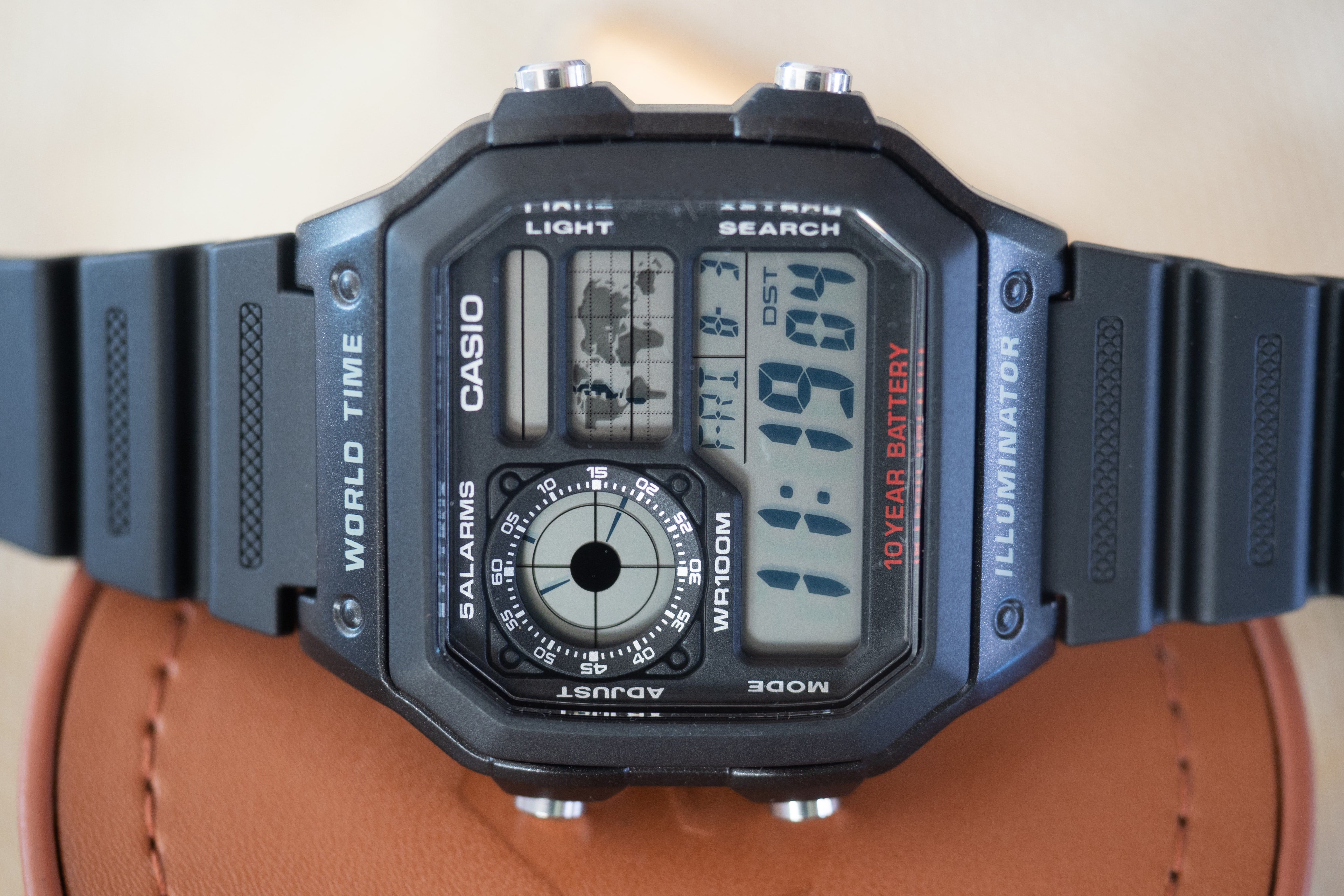 Casio World Map Watch.The Value Proposition The Casio Ae1200wh 1a World Timer At Less