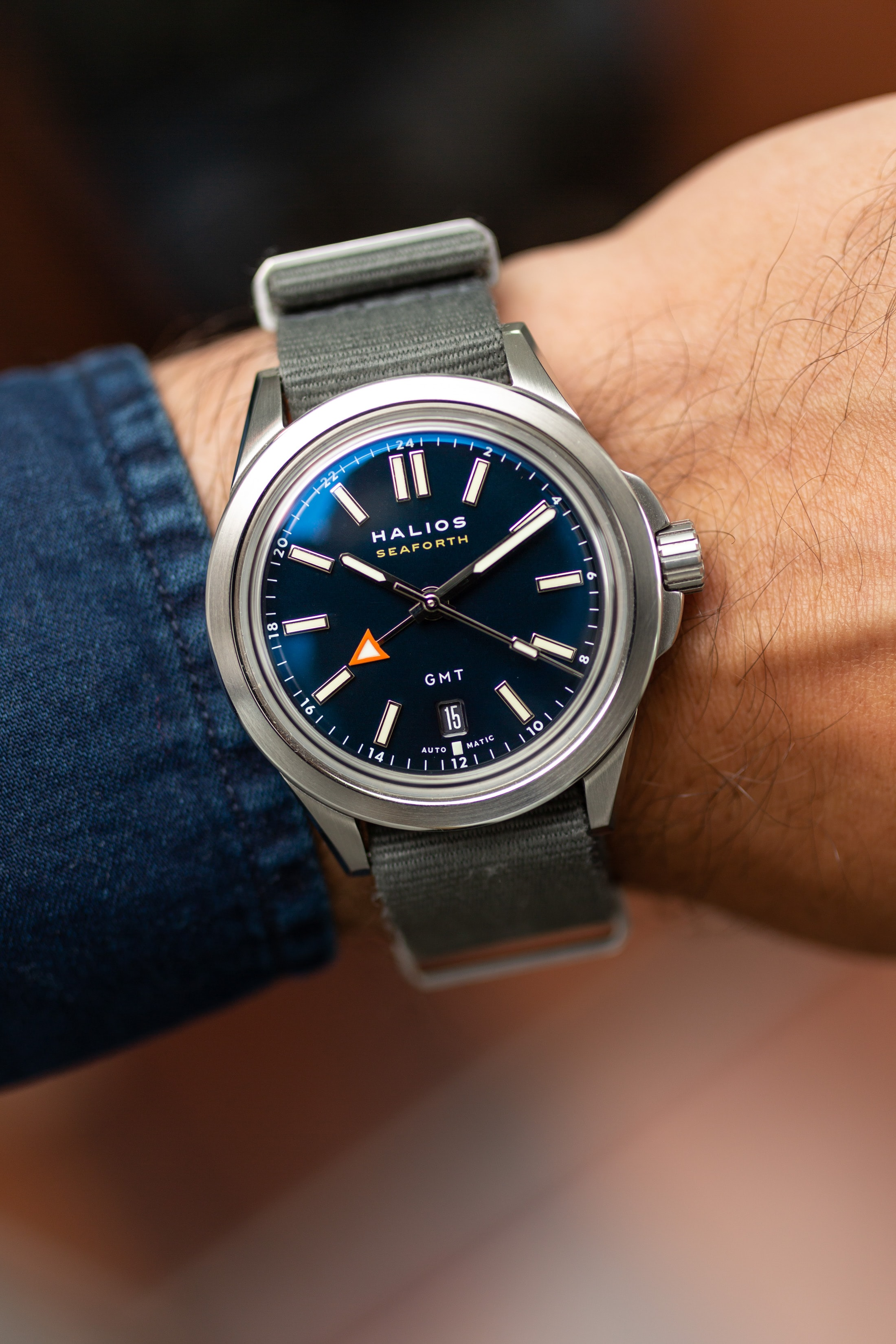 Introducing: The Halios Seaforth GMT (Live Pics & Pricing) Halios Seaforth GMT 10