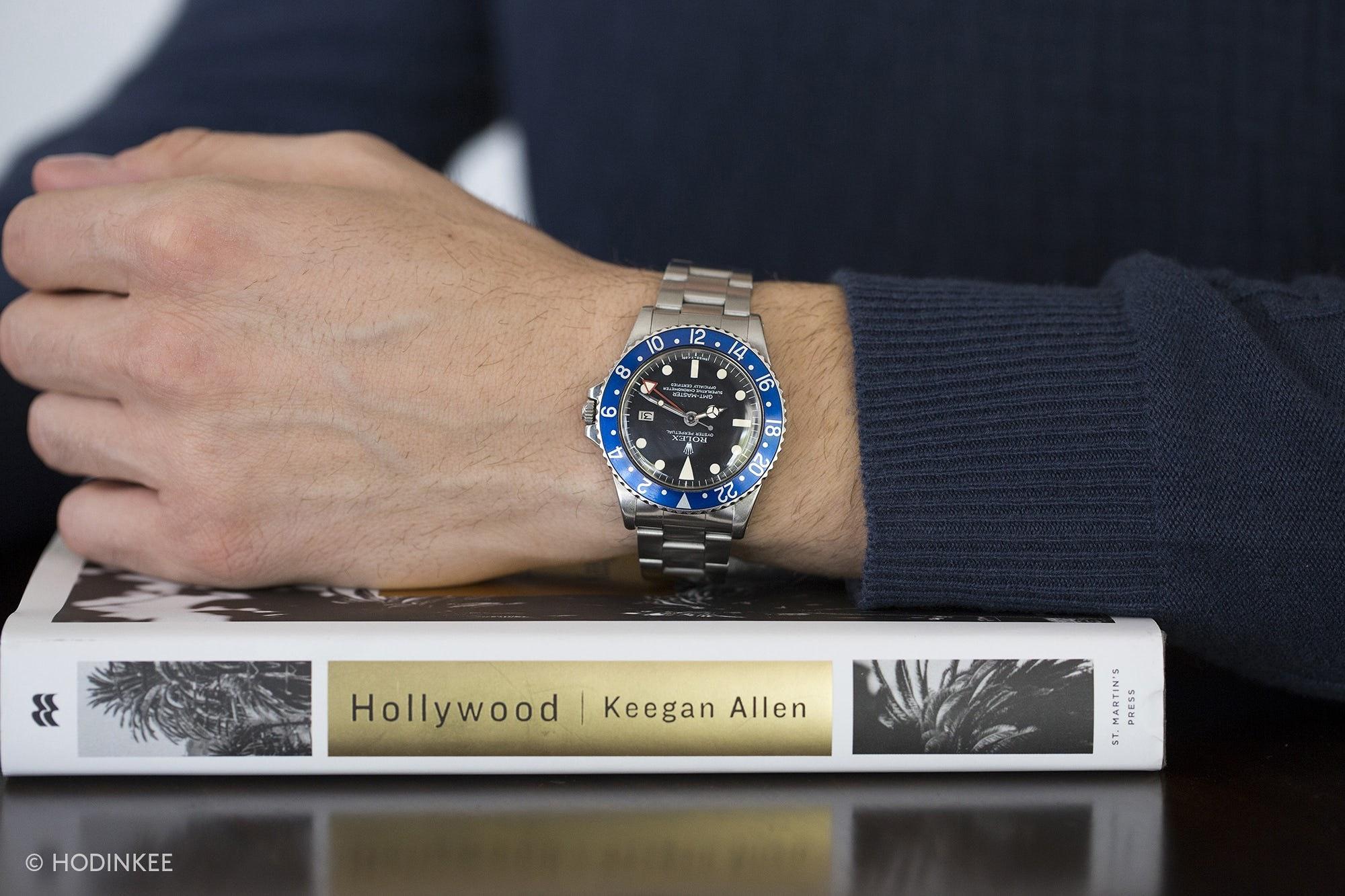 HODINKEE Radio: Episode 9: Keegan Allen wrist