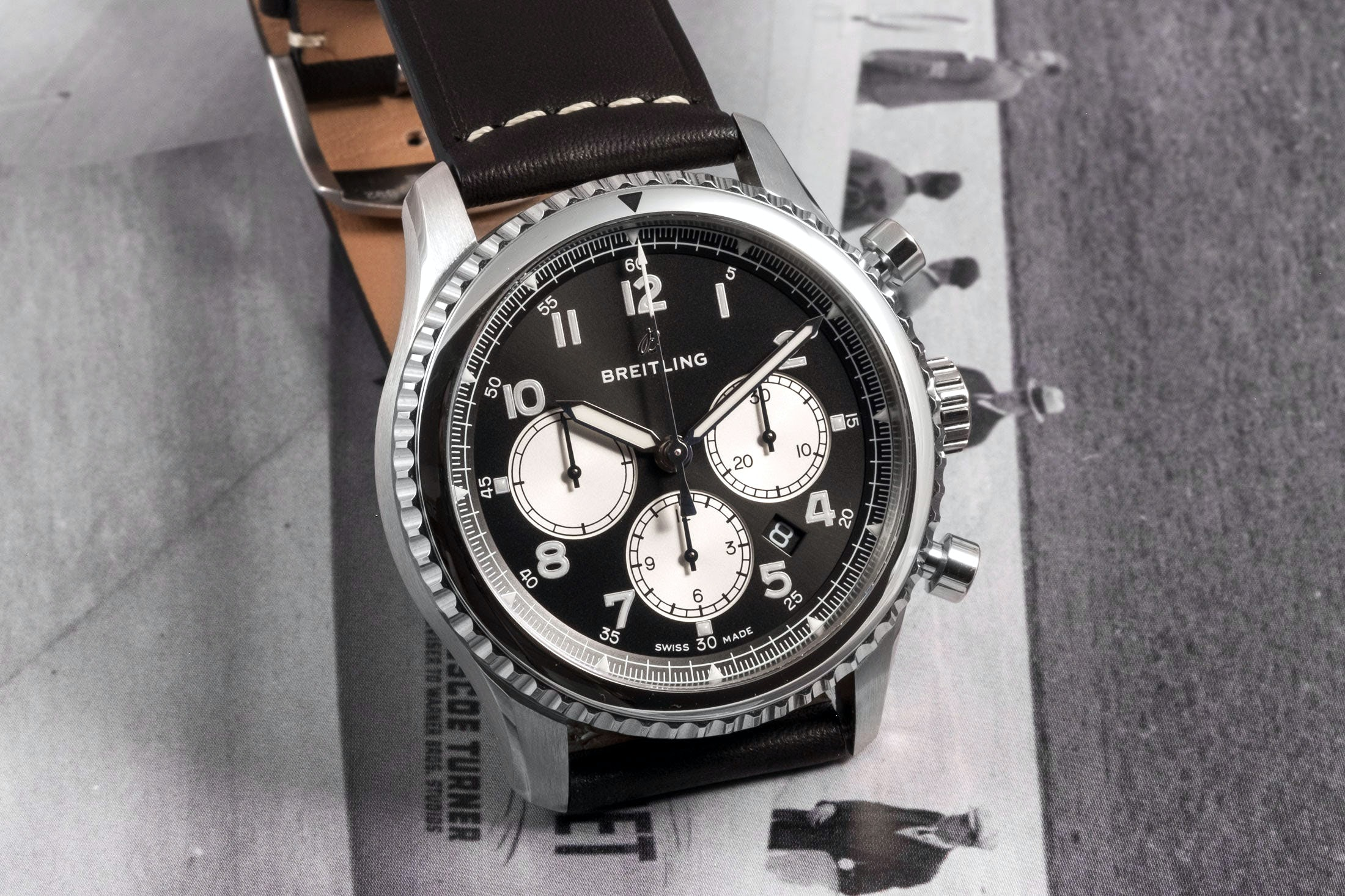 Editors' Picks: The Best New Chronographs Under $10,000 breitling 02