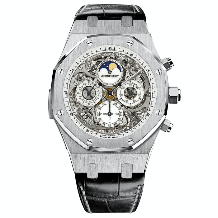 In depth the tale of the single tone two metal audemars for Victory motors royal oak
