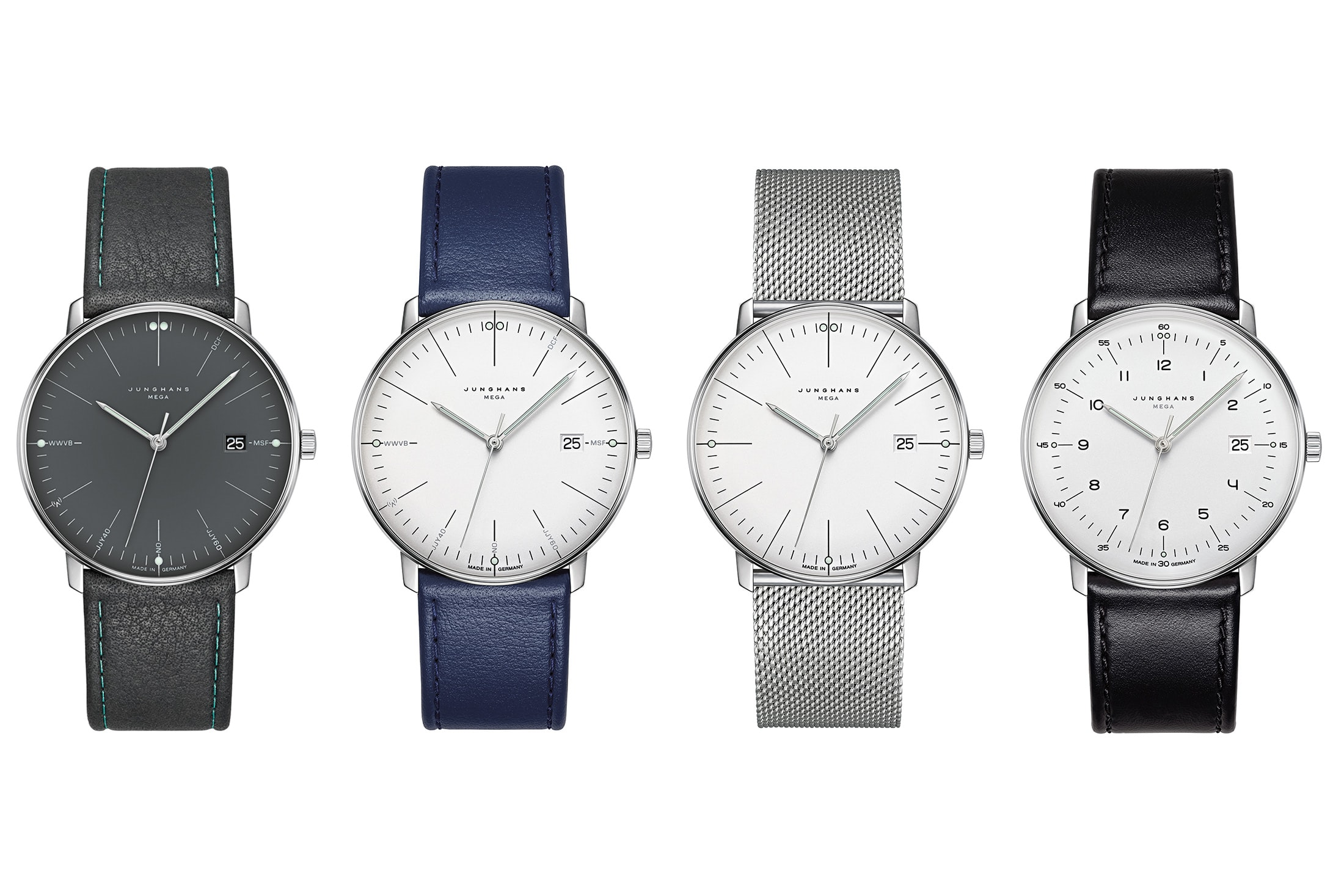 Introducing: The Junghans Max Bill Mega junghans max bill mega 5