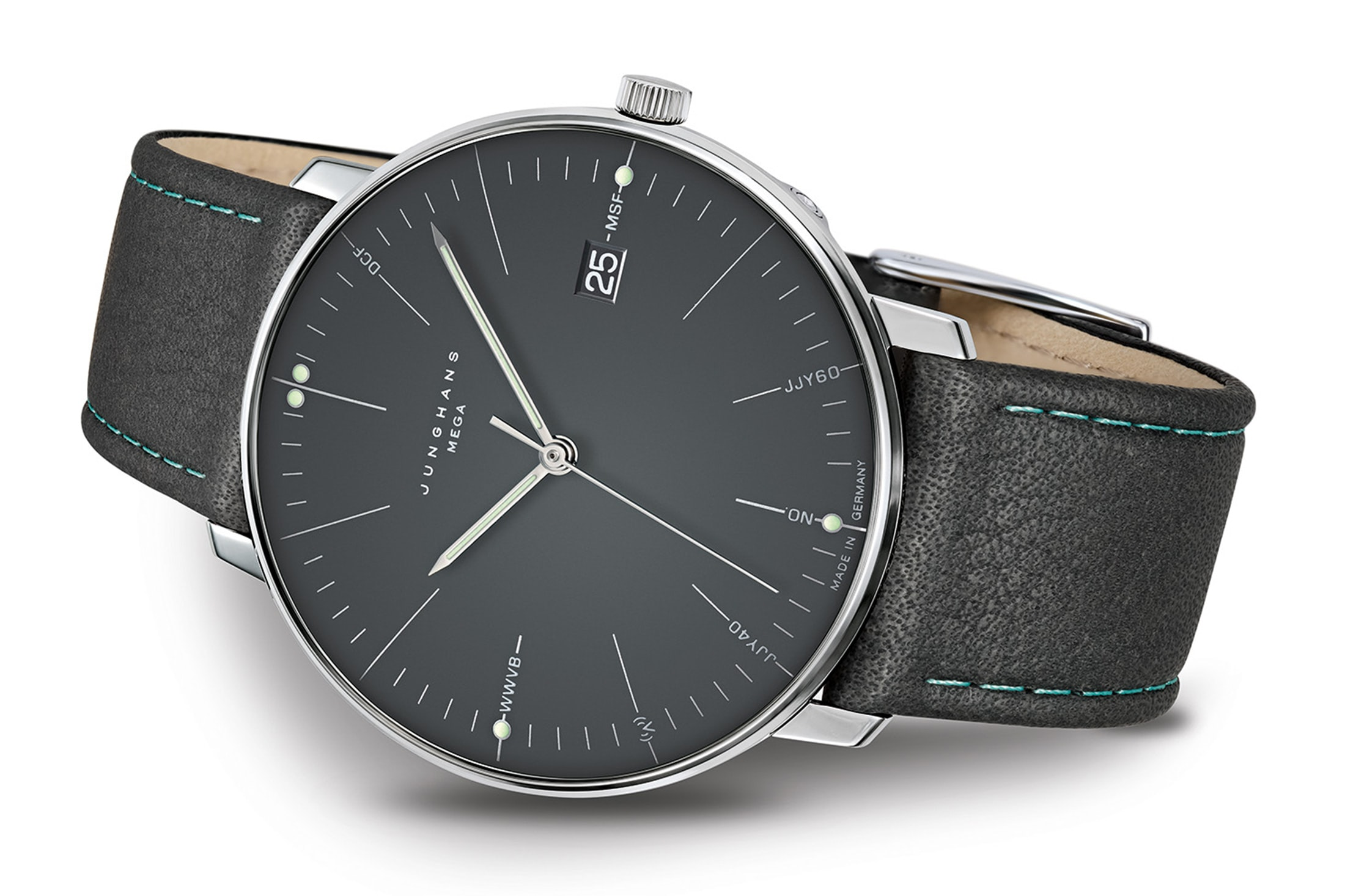 Introducing: The Junghans Max Bill Mega junghans max bill mega 3