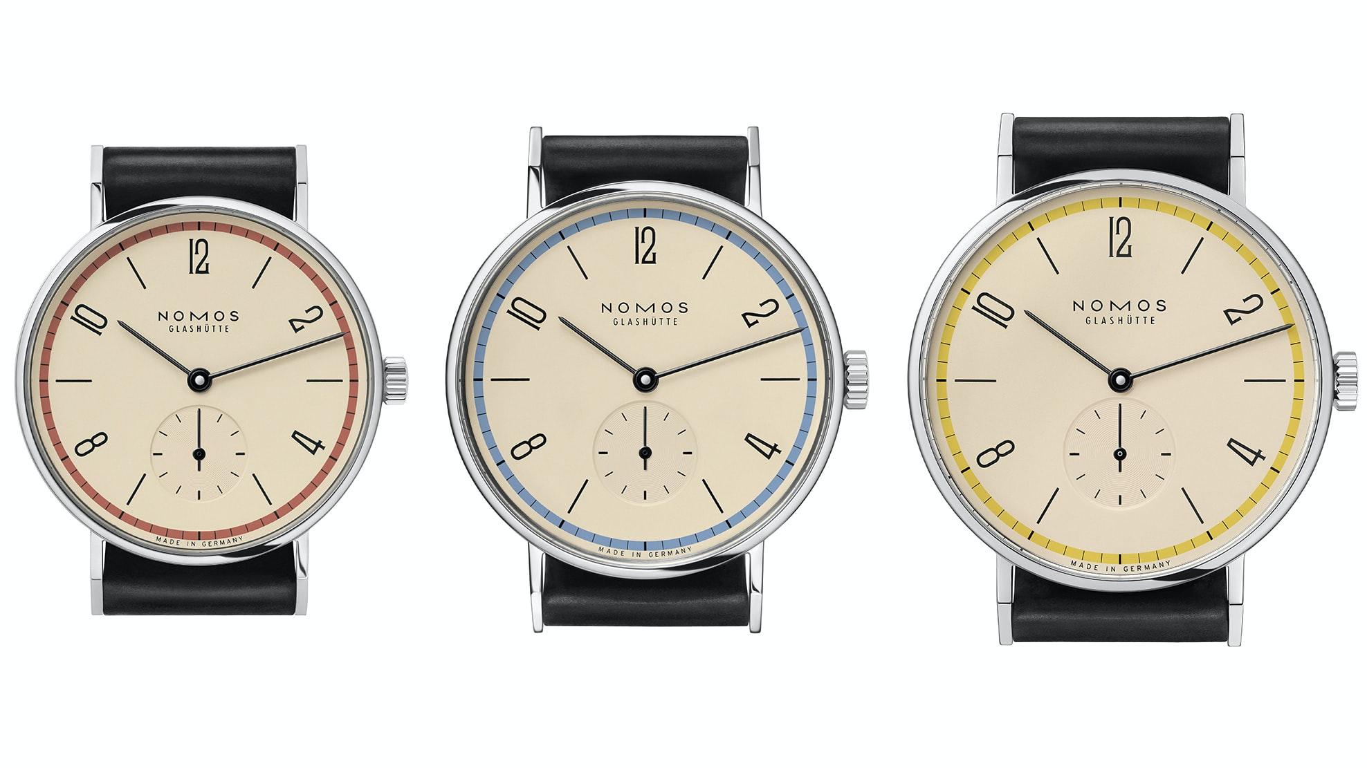 Introducing: The NOMOS Glashütte Tangente 'A Century Of Bauhaus' Limited Editions (Exclusive) nomos h