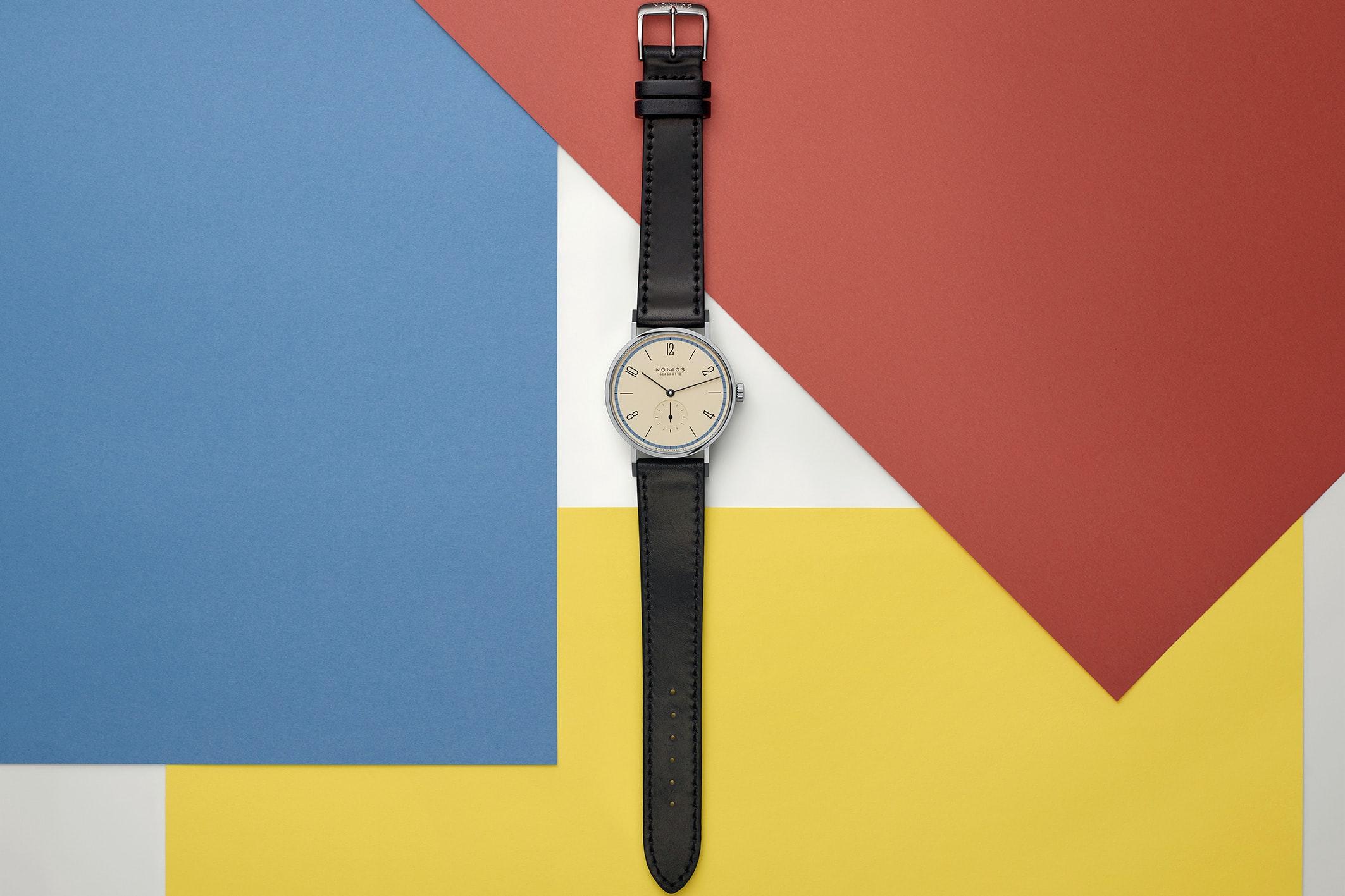 Introducing: The NOMOS Glashütte Tangente 'A Century Of Bauhaus' Limited Editions (Exclusive) nomos 03