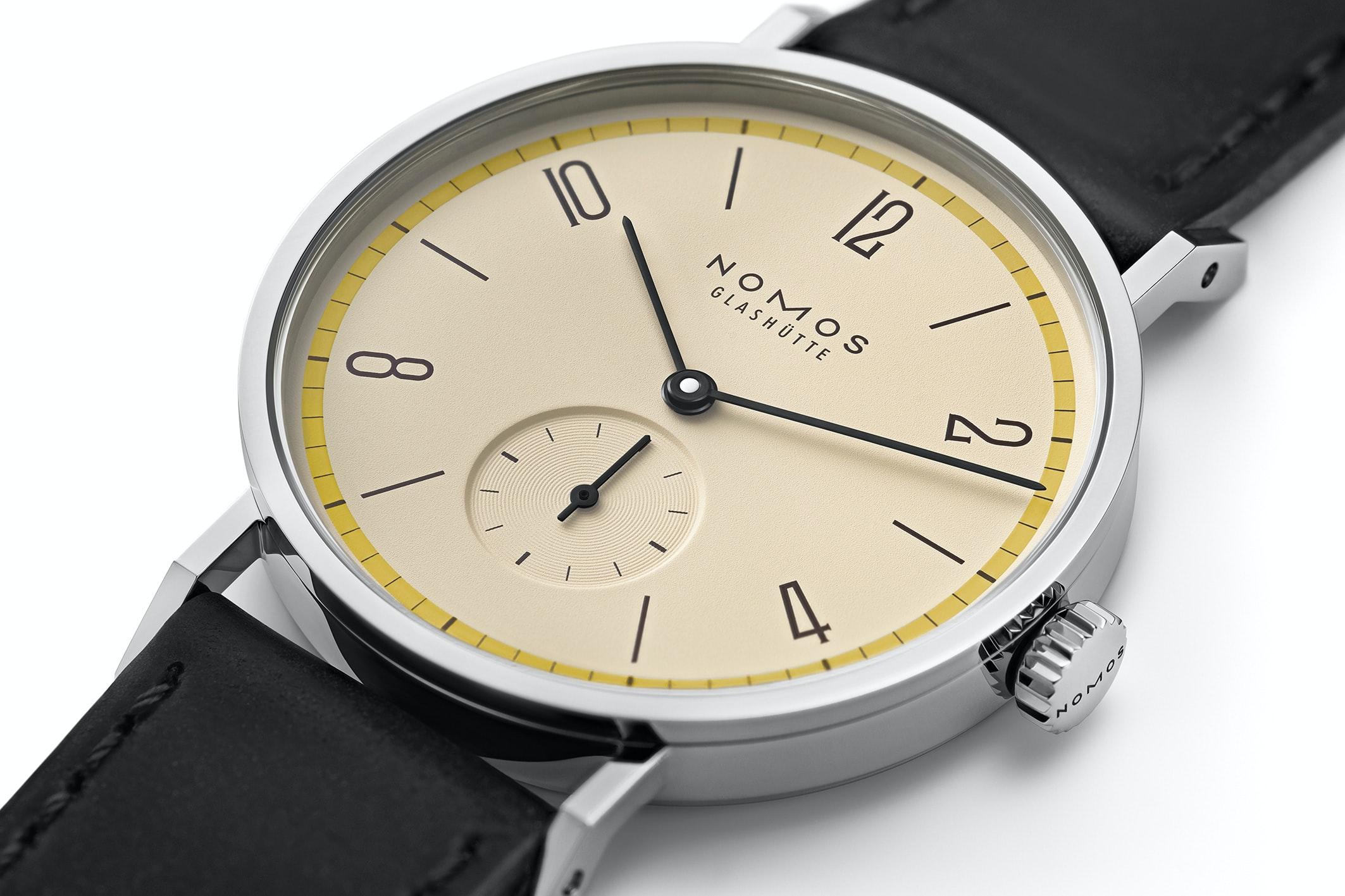 Introducing: The NOMOS Glashütte Tangente 'A Century Of Bauhaus' Limited Editions (Exclusive) nomos 06