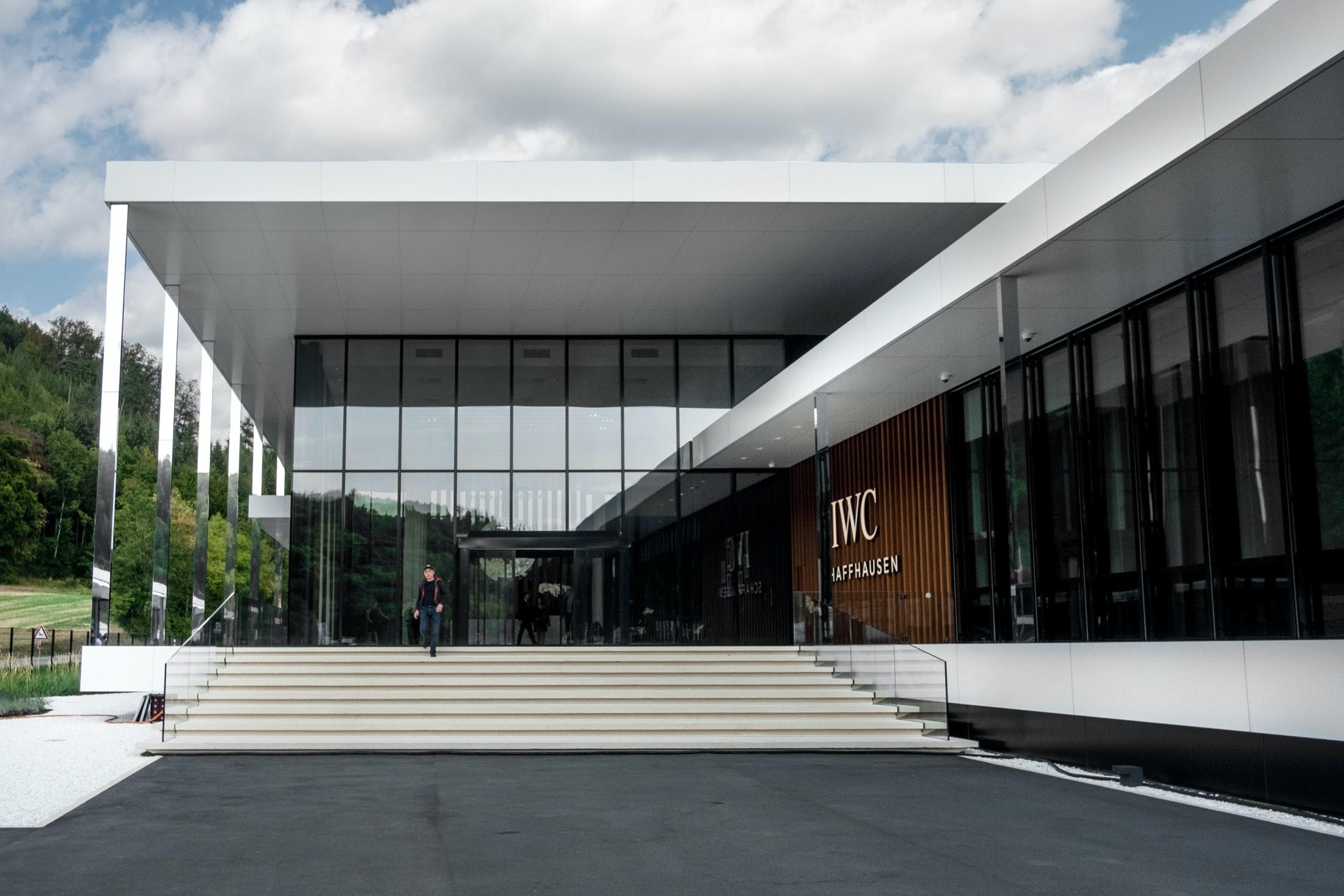 Inside The Manufacture: The New IWC Manufakturzentrum DSCF9309