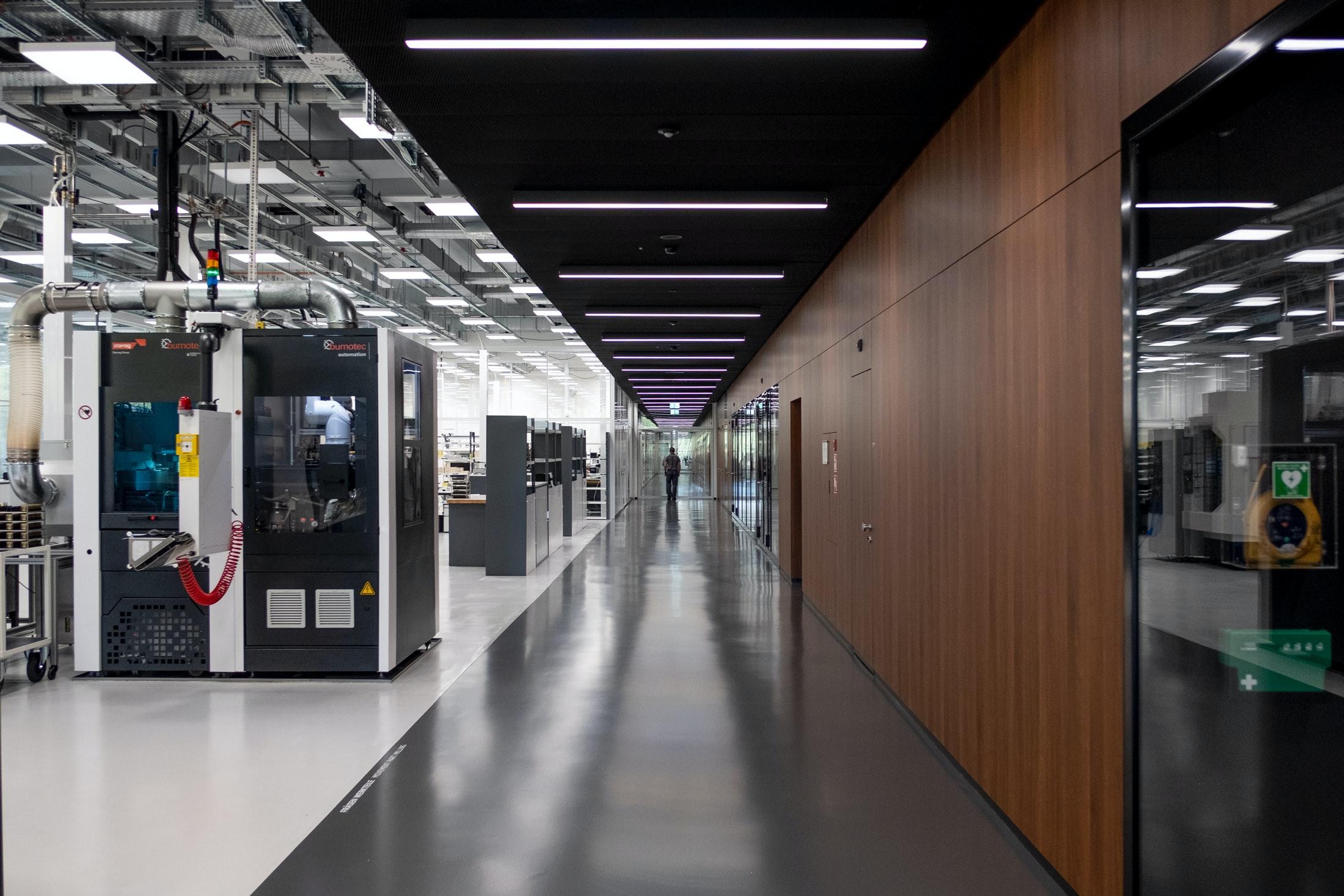 Inside The Manufacture: The New IWC Manufakturzentrum DSCF9328