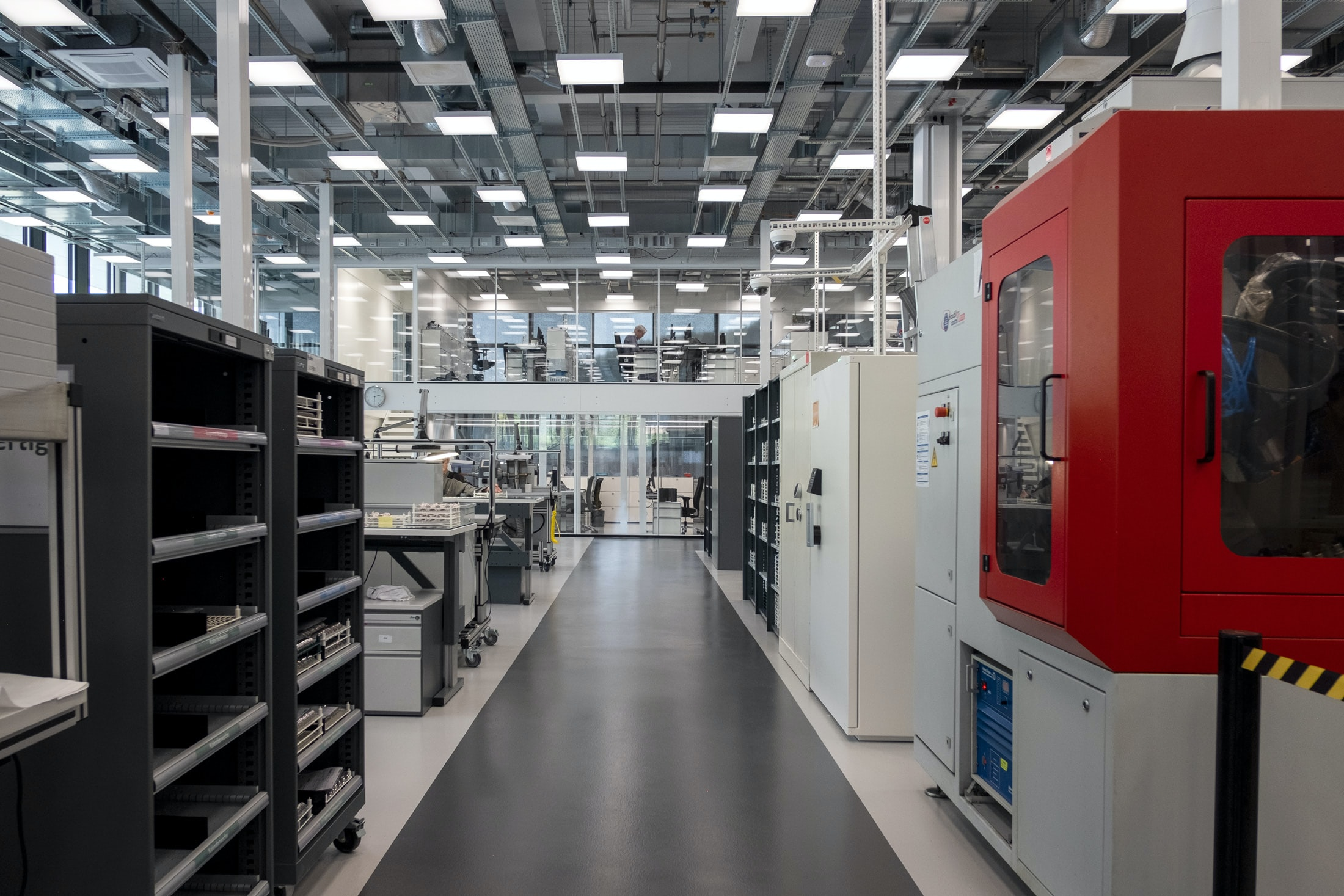 Inside The Manufacture: The New IWC Manufakturzentrum DSCF9370