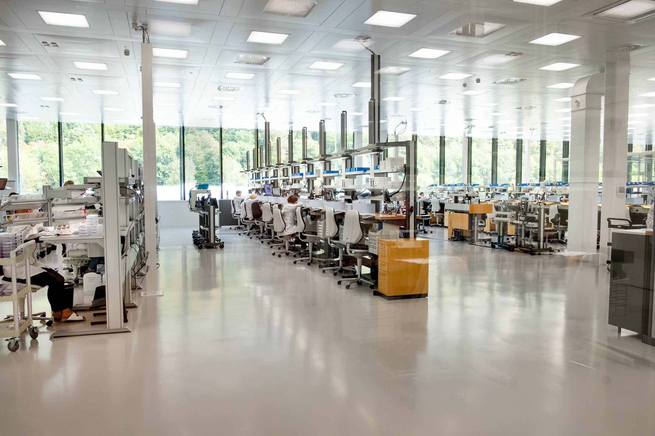 Inside The Manufacture: The New IWC Manufakturzentrum DSCF9336