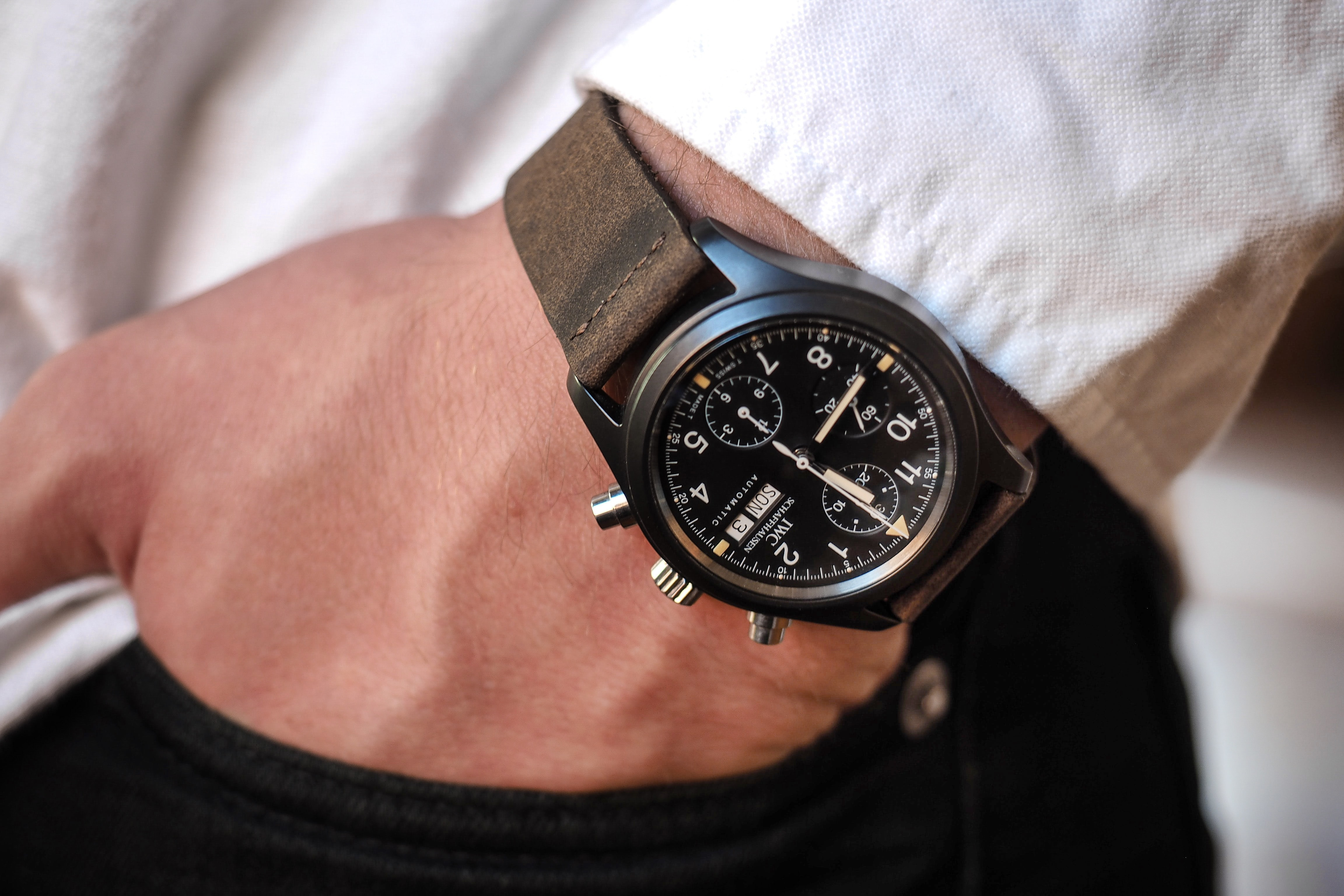 Sunday Rewind: Why The IWC Ceramic Fliegerchronograph Ref. 3705 Is A True Modern Classic P1281076